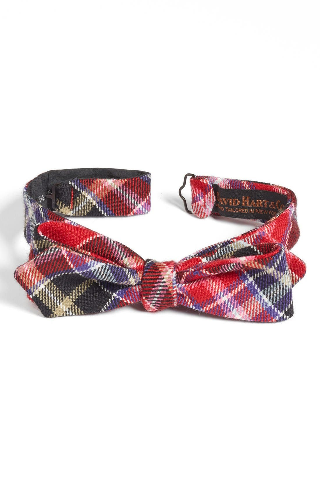 Main Image - David Hart Wool Bow Tie