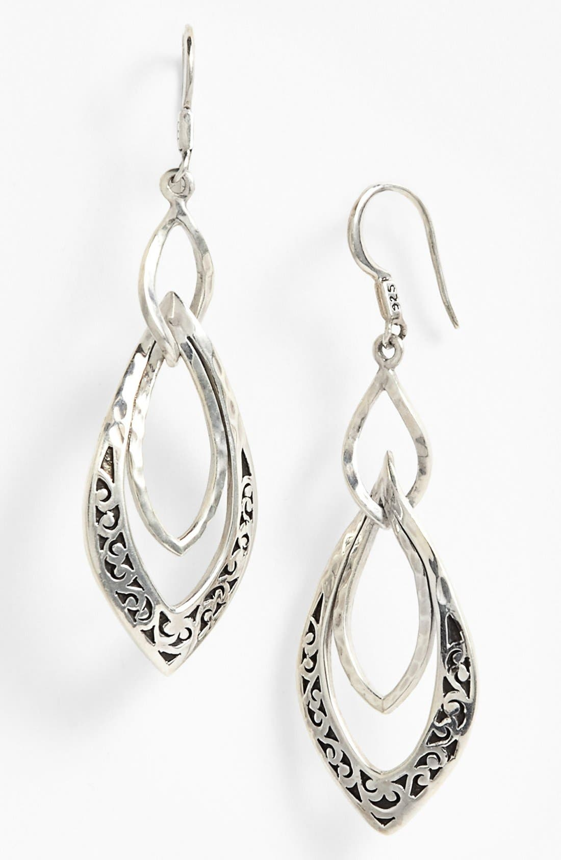 Main Image - Lois Hill Large Twisted Drop Earrings