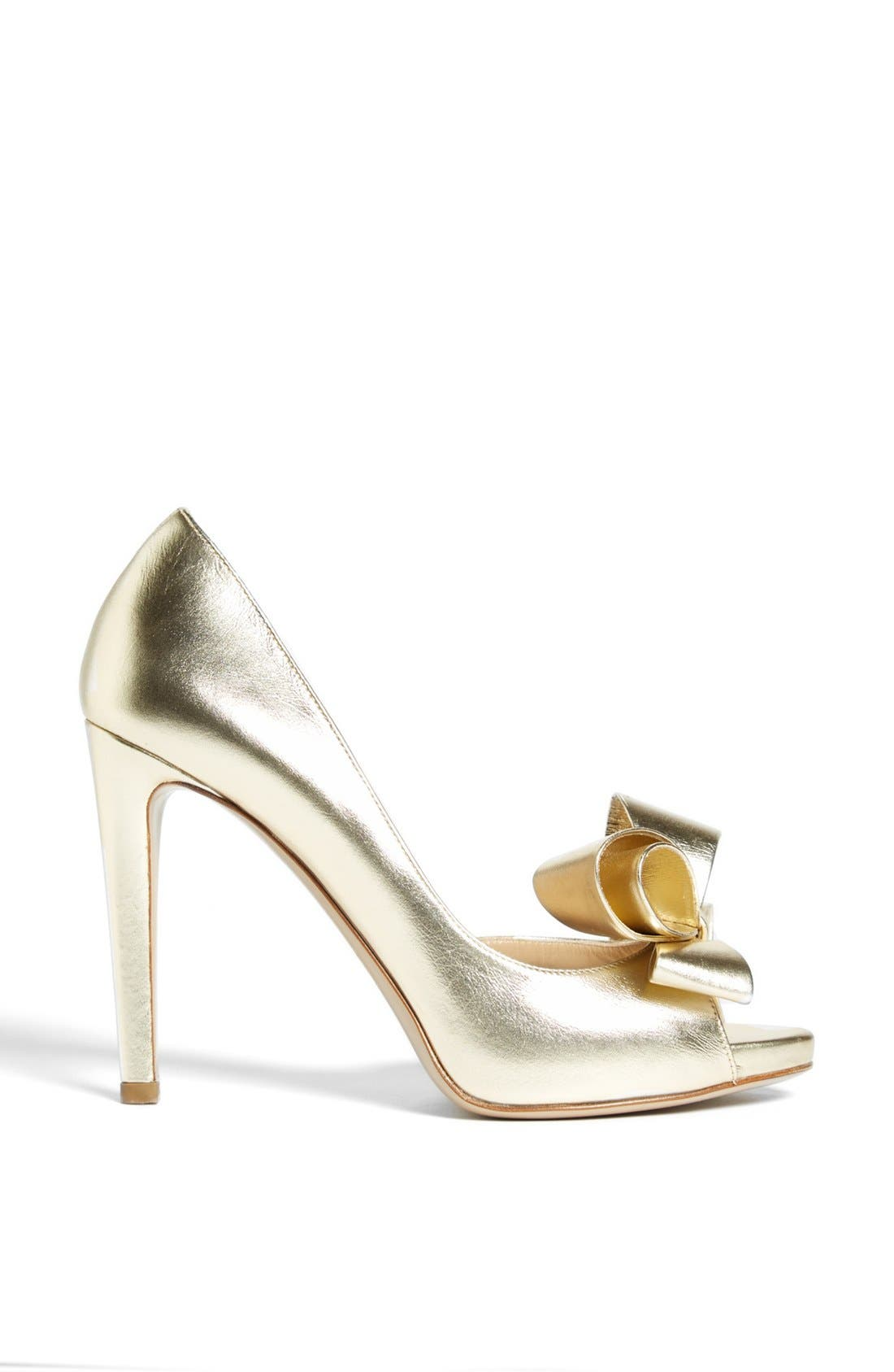 Alternate Image 4  - Valentino 'Couture Bow' D'Orsay Pump (Women)