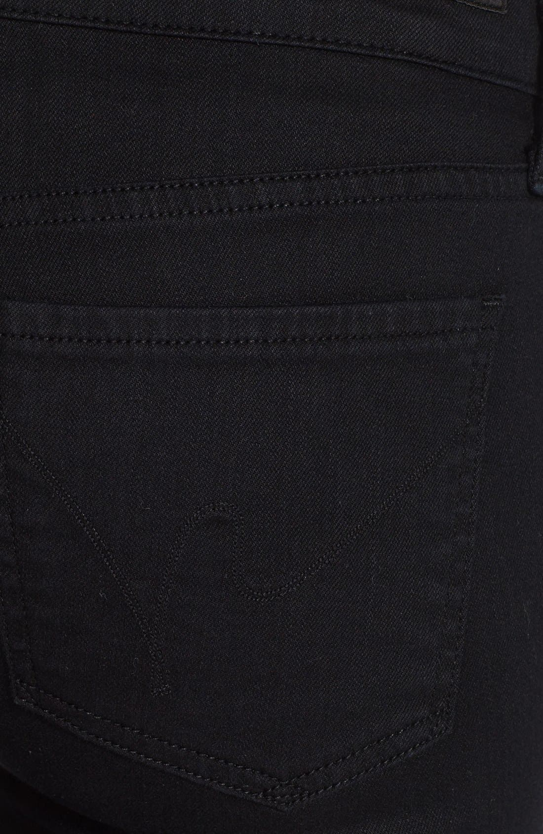 Alternate Image 3  - Citizens of Humanity 'Ava' Straight Leg Jeans (Black Diamond)