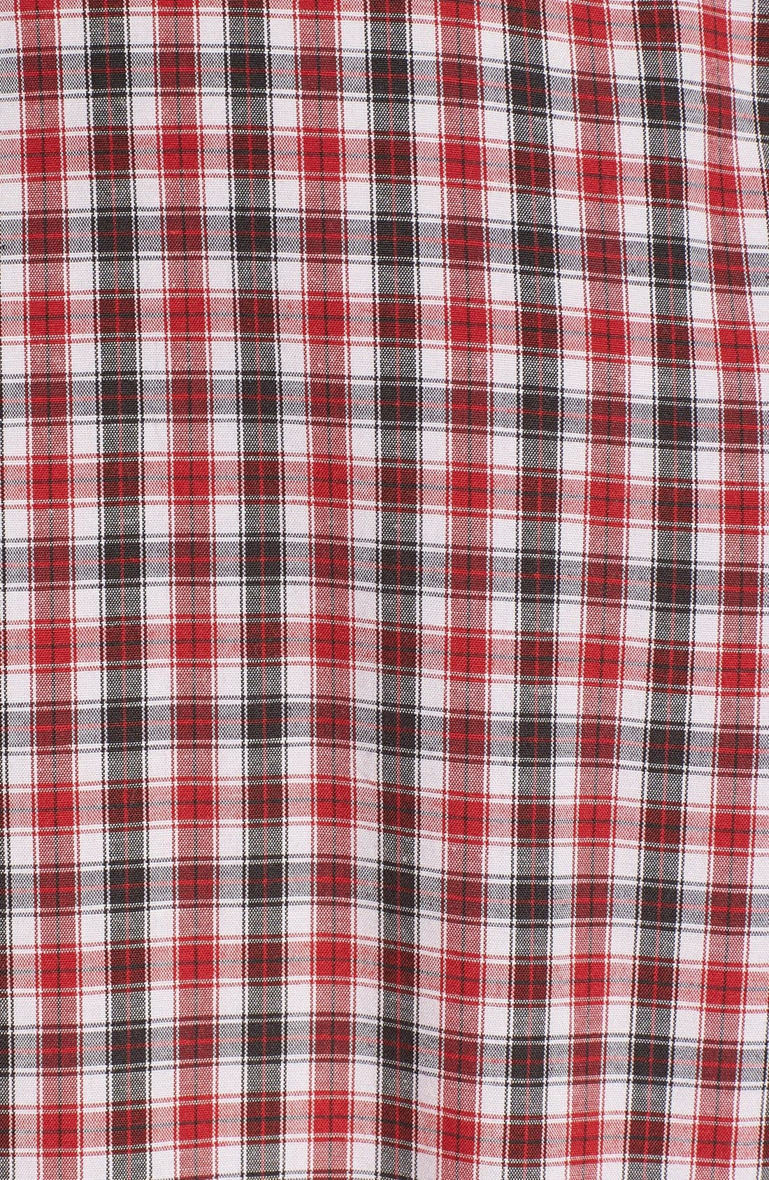 Alternate Image 2  - Quiksilver Waterman 'Tight Lines' Check Shirt