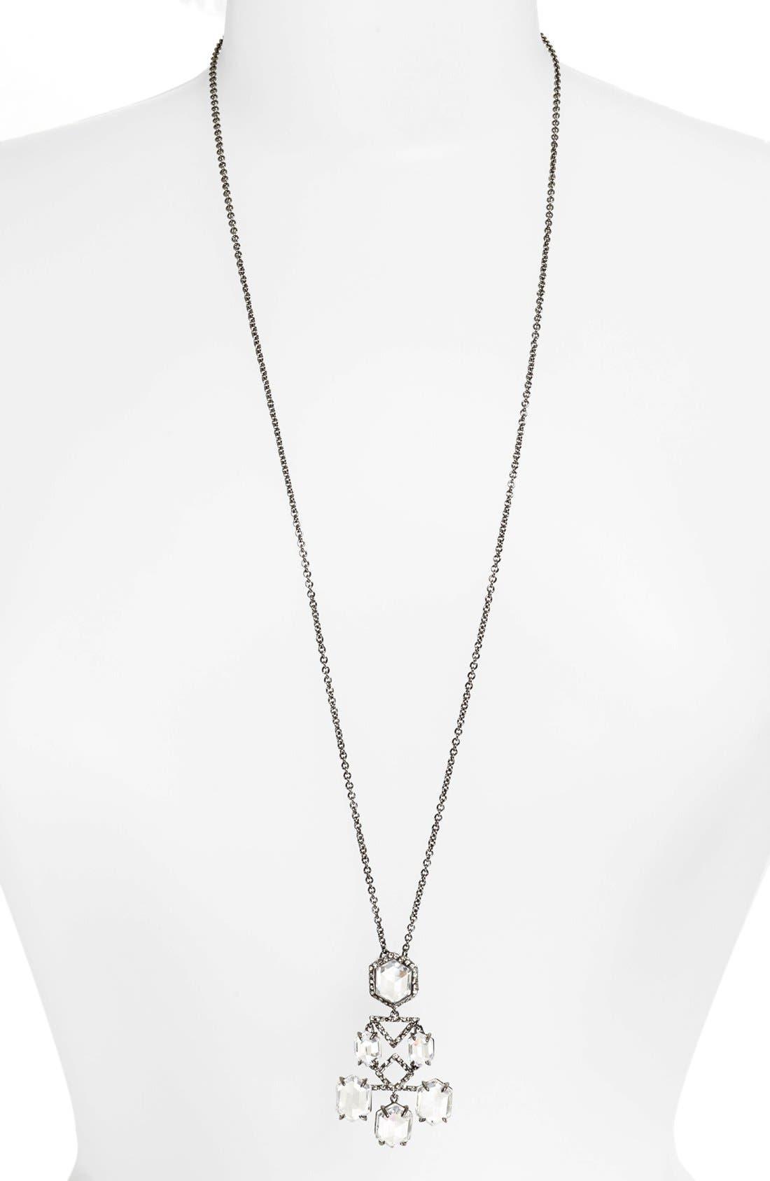 Alternate Image 1 Selected - Alexis Bittar 'Miss Havisham - Pavo' Long Pendant Necklace