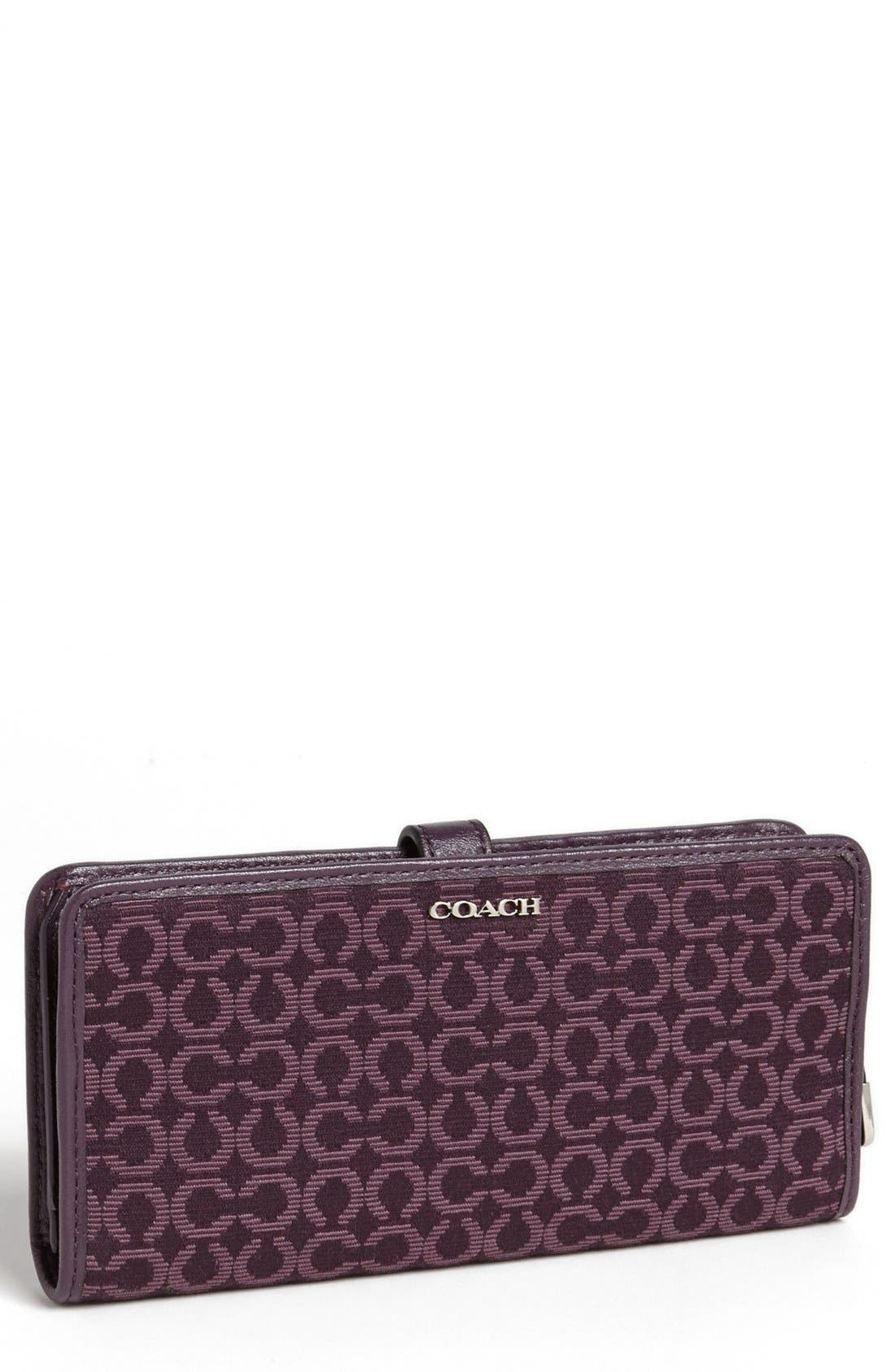 Main Image - COACH 'Madison - Skinny' Wallet