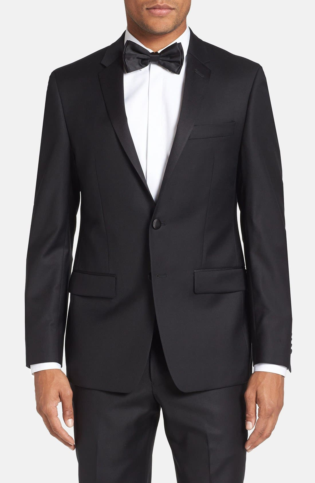 Alternate Image 3  - Michael Kors Trim Fit Wool Tuxedo