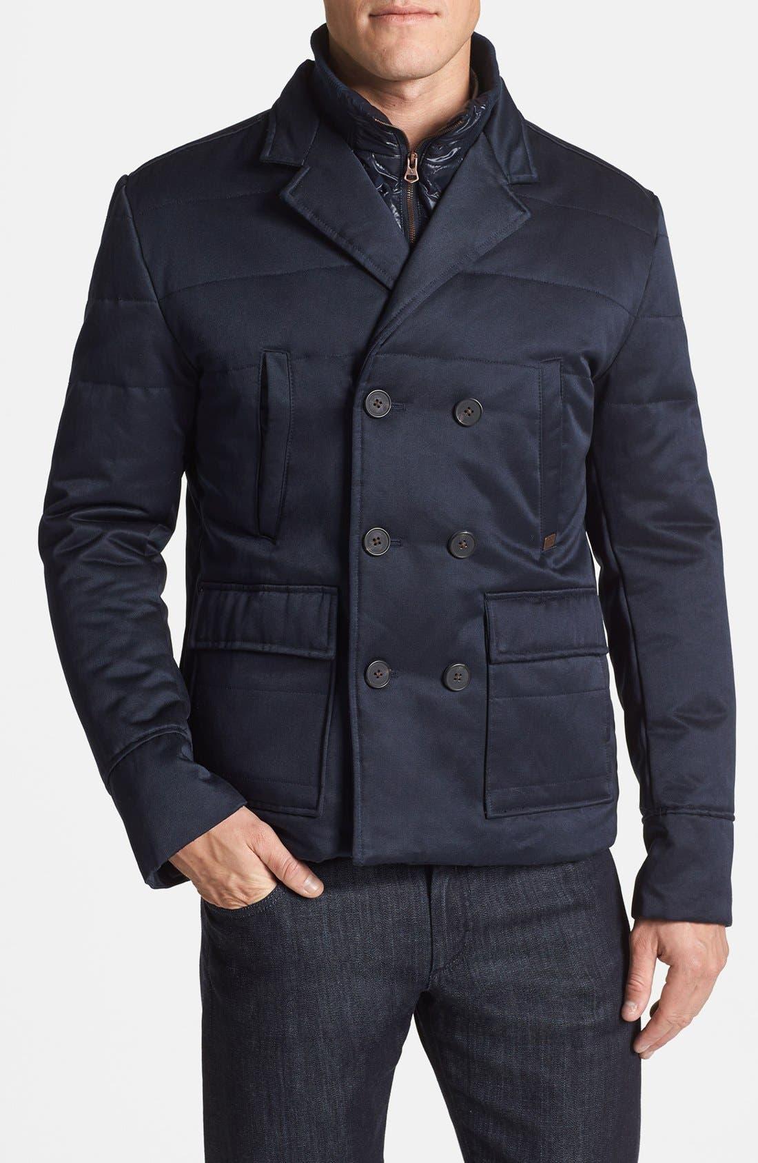 Main Image - Antony Morato Slim Fit Double Breasted Jacket
