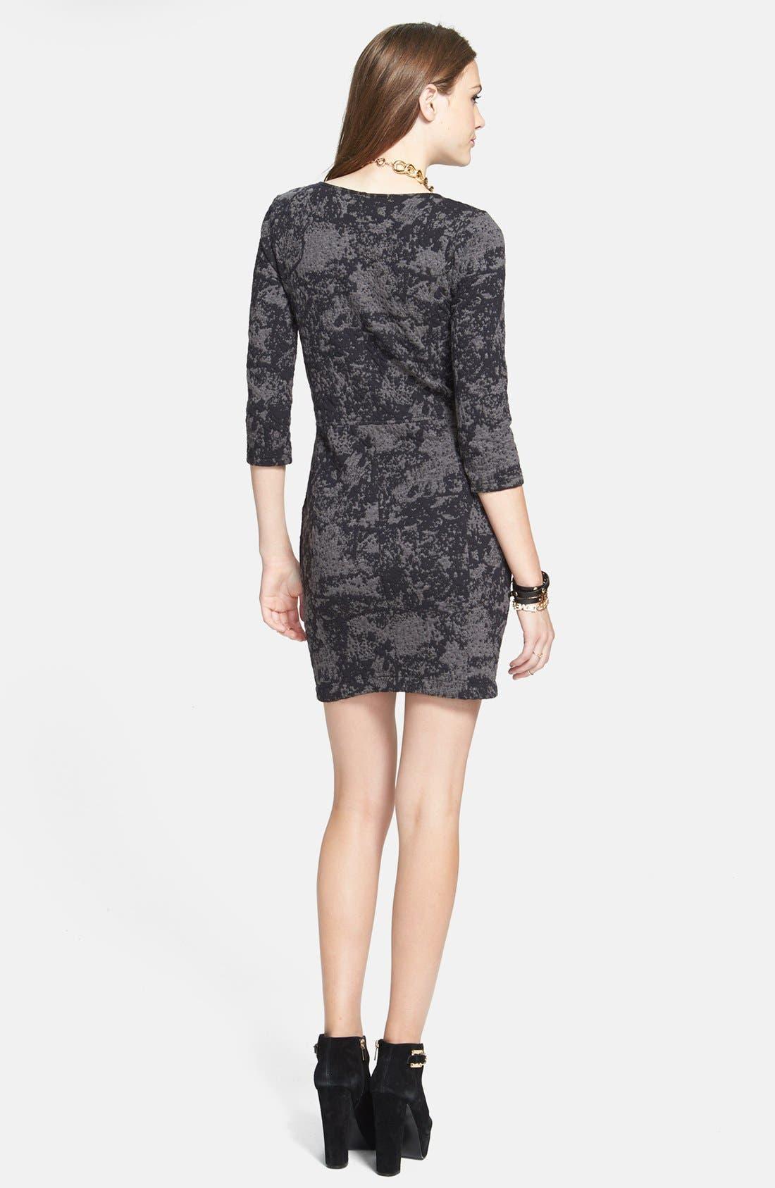 Alternate Image 2  - BP. Textured Body-Con Dress (Juniors)