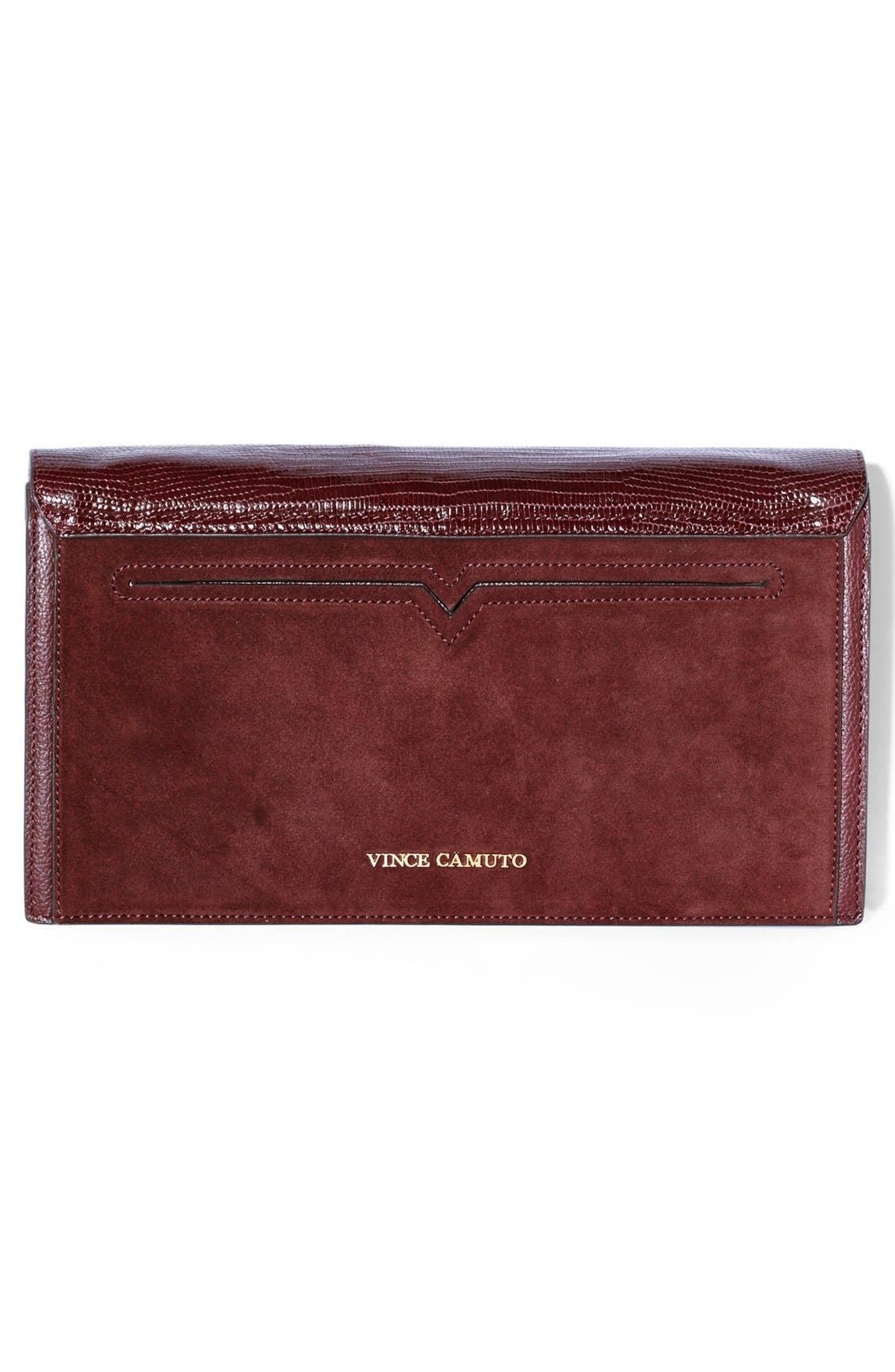 Alternate Image 3  - Vince Camuto 'Billy' Leather Clutch