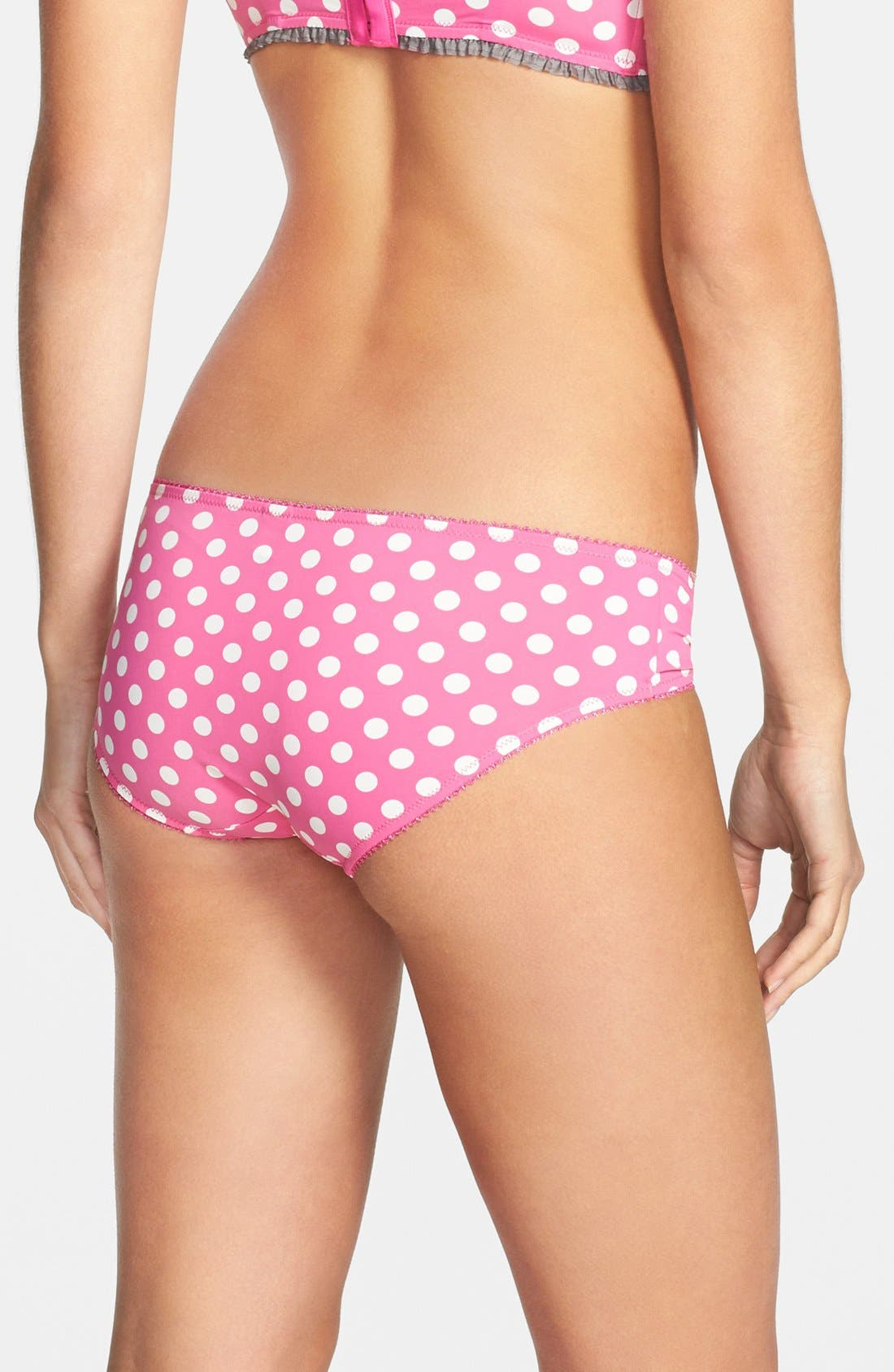 Alternate Image 2  - kensie 'Stella' Hipster Briefs (3 for $30)