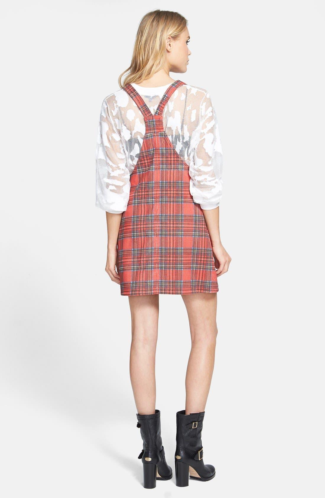 Alternate Image 2  - MINKPINK 'An Education' Plaid Dress