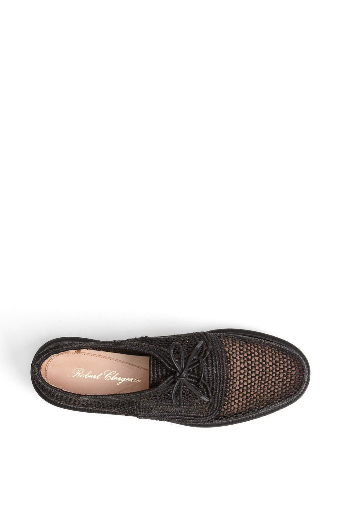Alternate Image 3  - Robert Clergerie 'Pogo' Raffia Platform Oxford