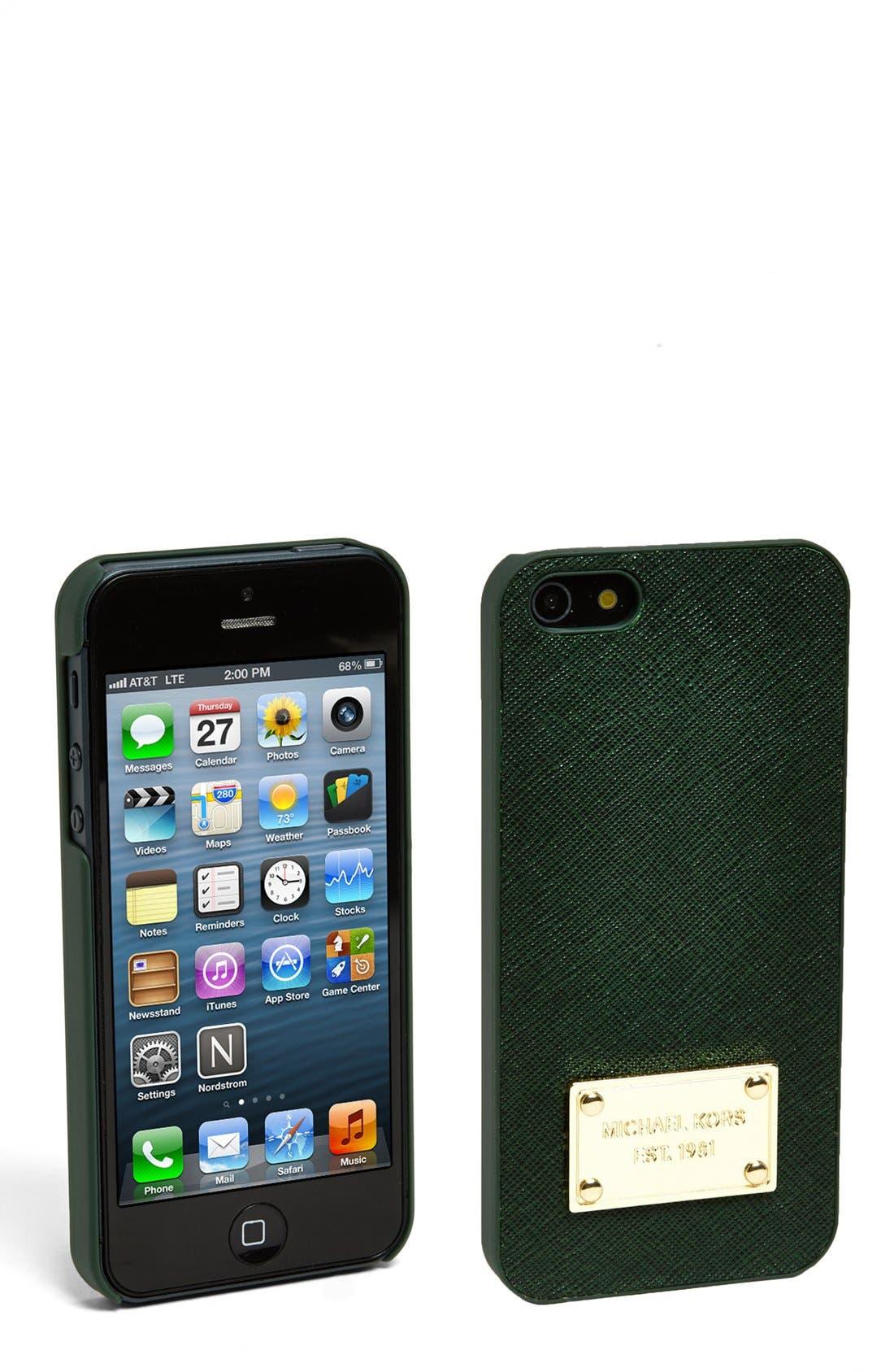 Alternate Image 1 Selected - MICHAEL Michael Kors iPhone 5 Case