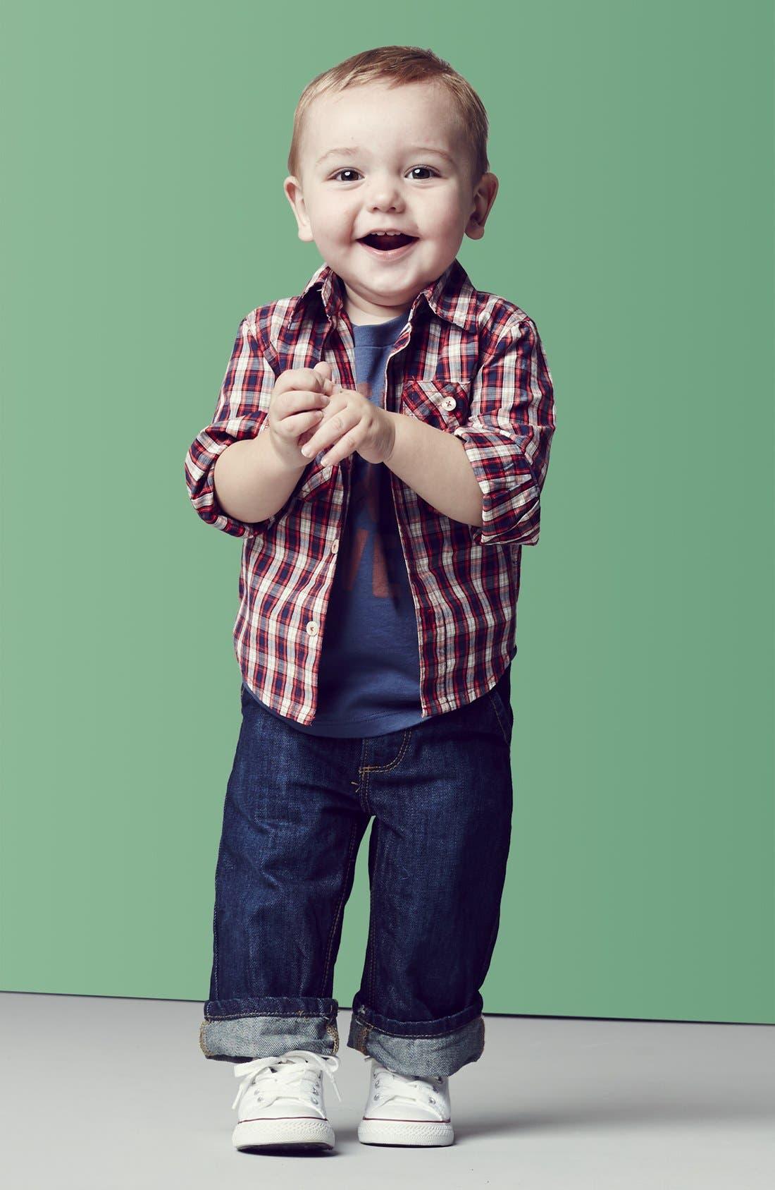 Alternate Image 3  - Peek 'Peanut' Jeans (Baby Boys)