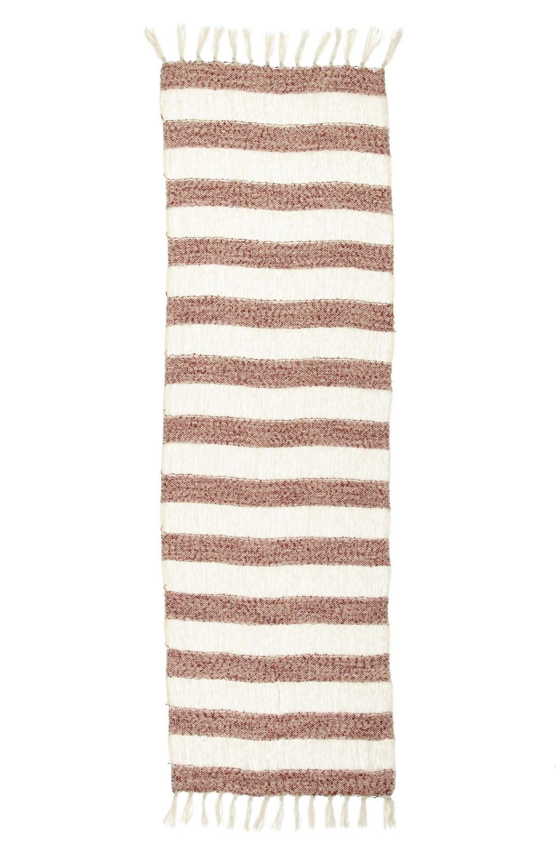 Alternate Image 2  - Leith Shredded Stripe Scarf