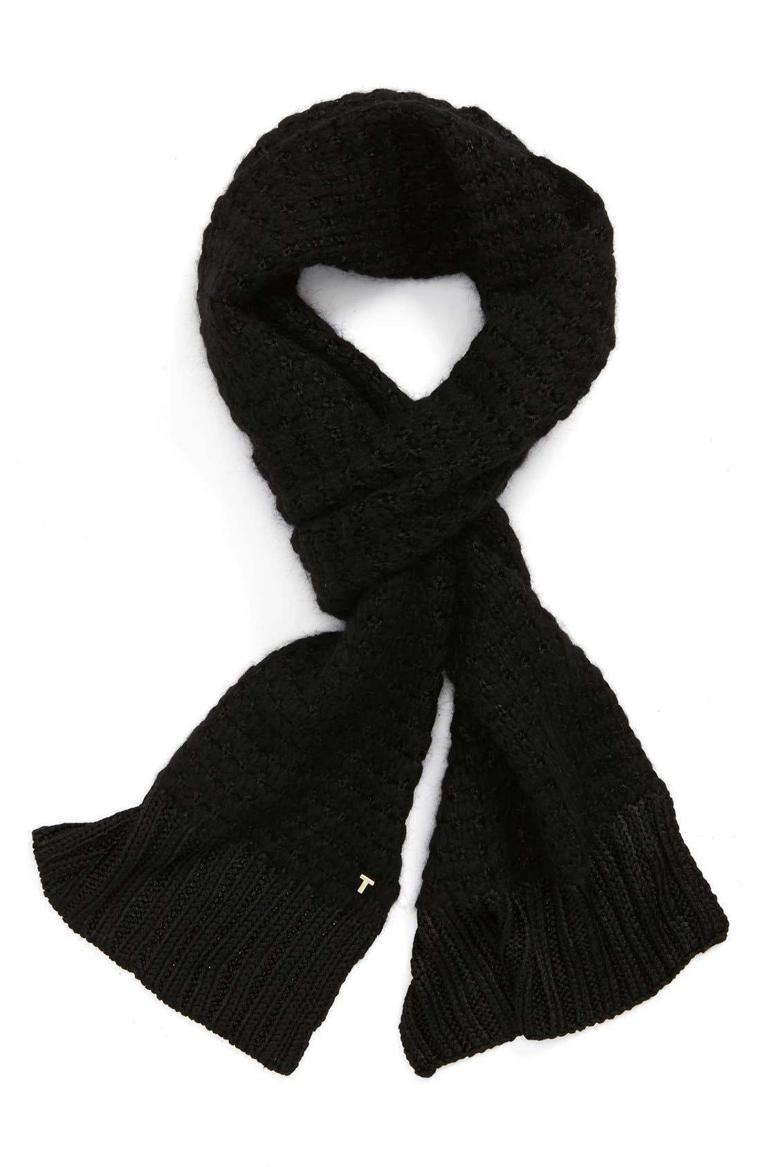 Main Image - Ted Baker London Tuck Stitched Knit Scarf