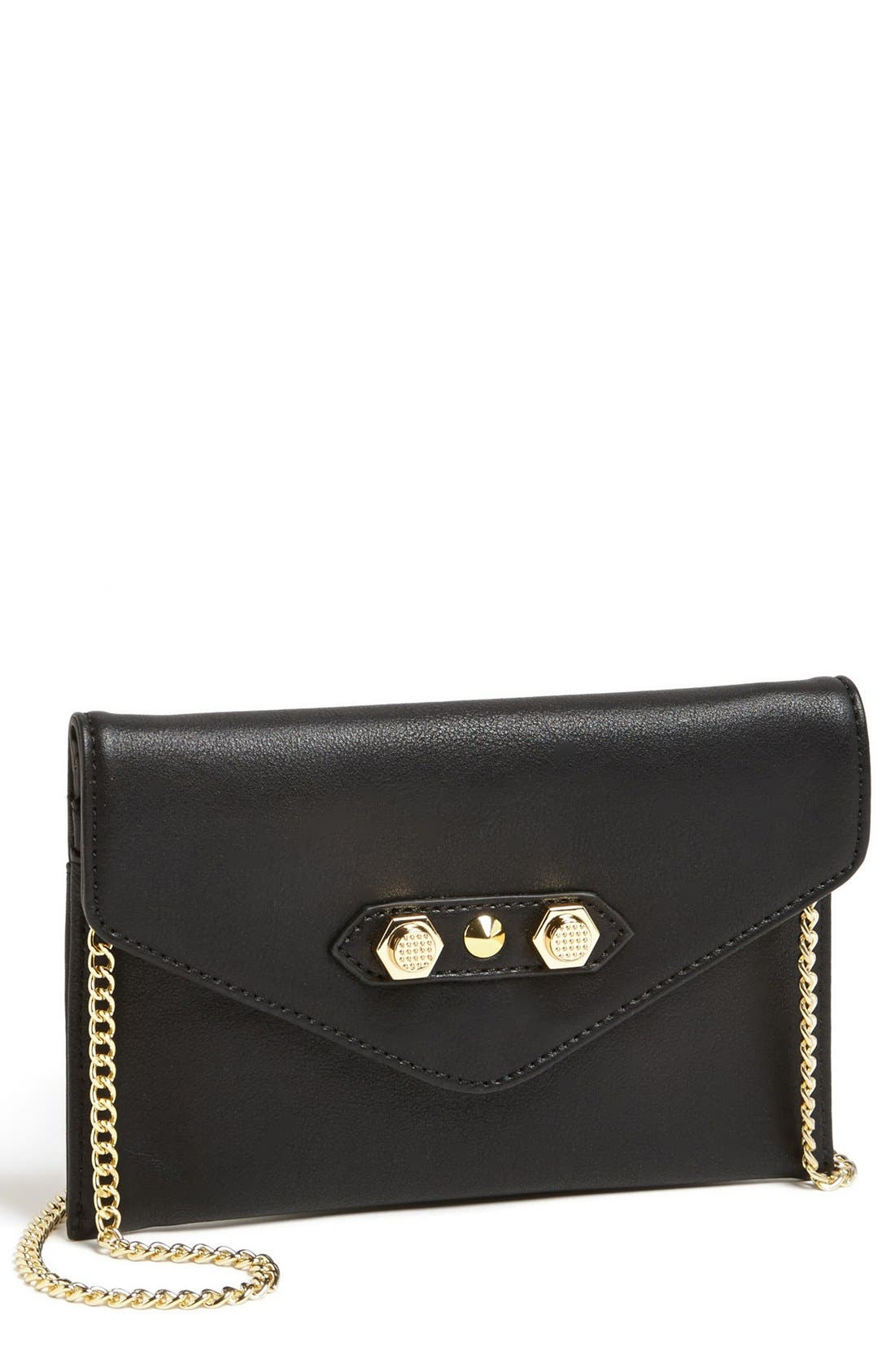 Main Image - Danielle Nicole 'Tina' Faux Leather Crossbody Pouch