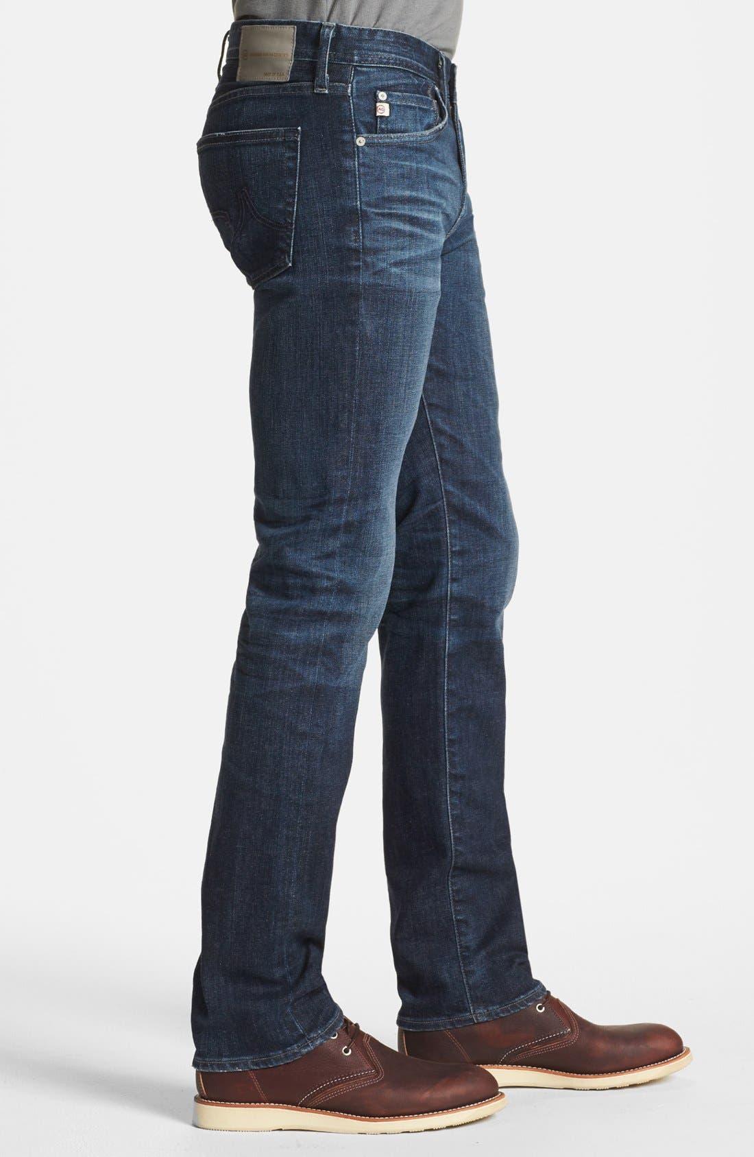 Alternate Image 3  - AG 'Matchbox' Slim Fit Jeans (Six Years Cast)