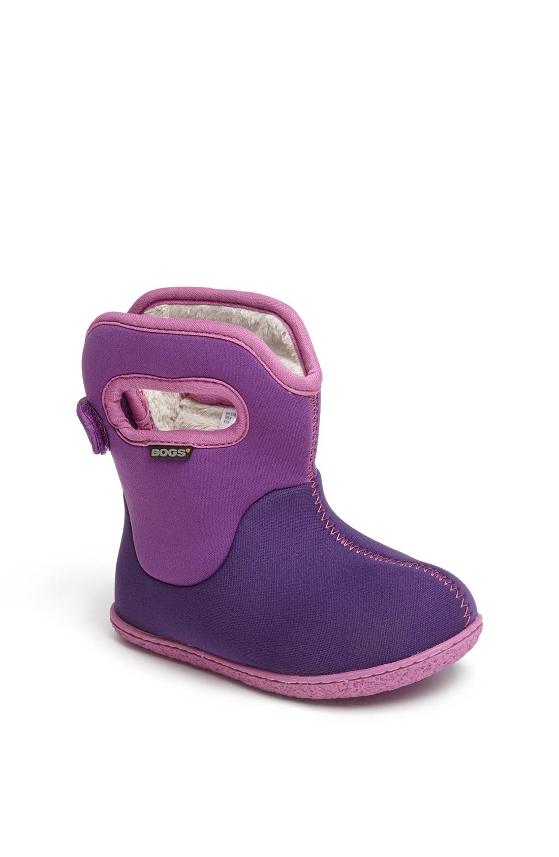 Main Image - Bogs 'Baby Bogs' Waterproof Boot (Baby, Walker & Toddler)