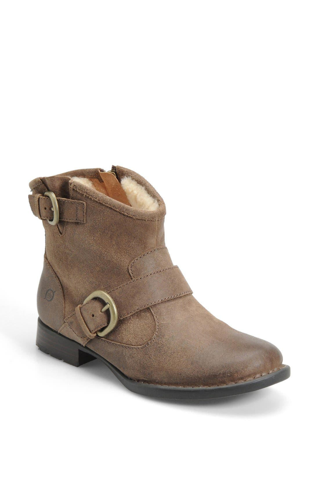 Alternate Image 1 Selected - Børn 'Shea' Shearling Lined Bootie