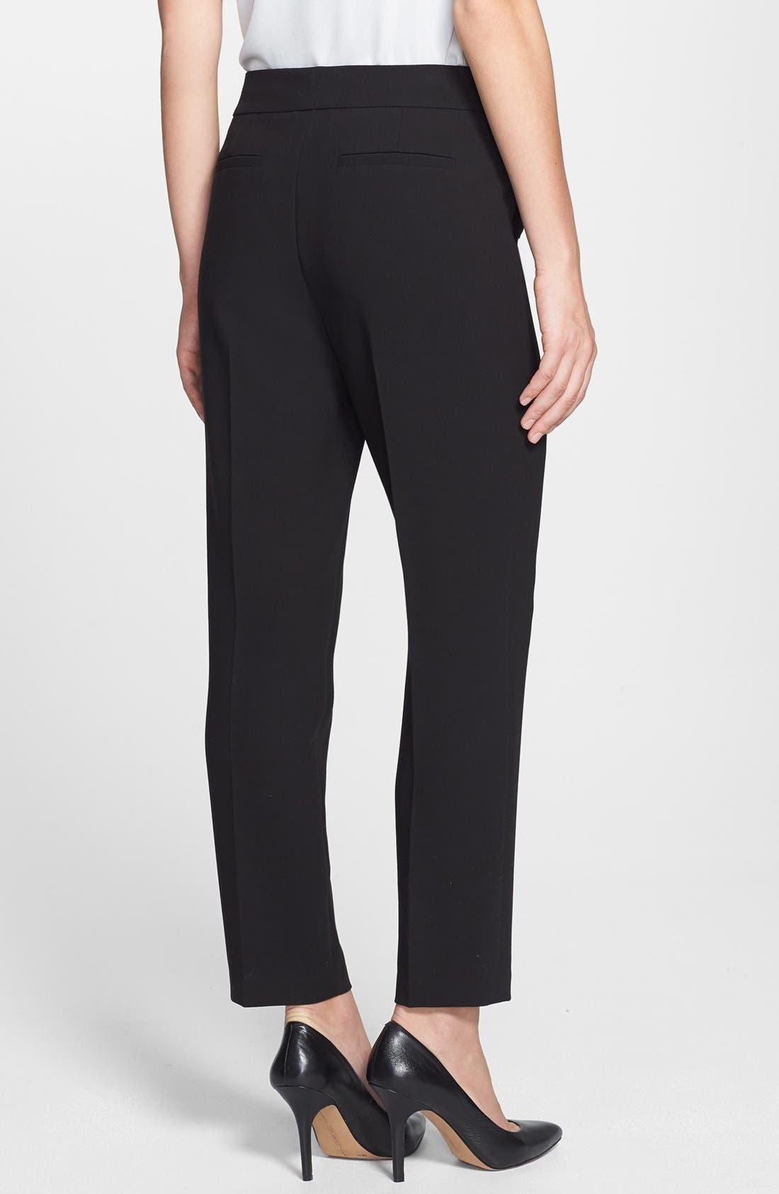 Alternate Image 2  - Classiques Entier® 'Lavish Drape' Ankle Pants