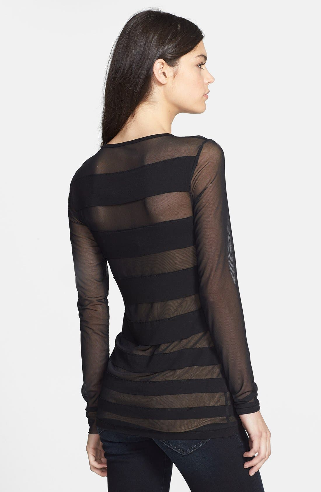 Alternate Image 2  - Bailey 44 'Saturn' Mesh Stripe Top