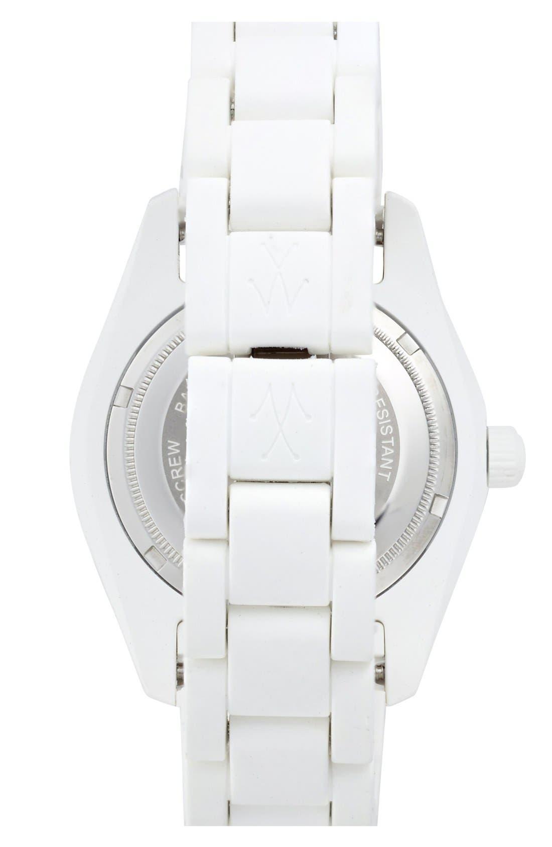 Alternate Image 2  - TOYWATCH 'Velvety' Pavé Dial Bracelet Watch, 41mm