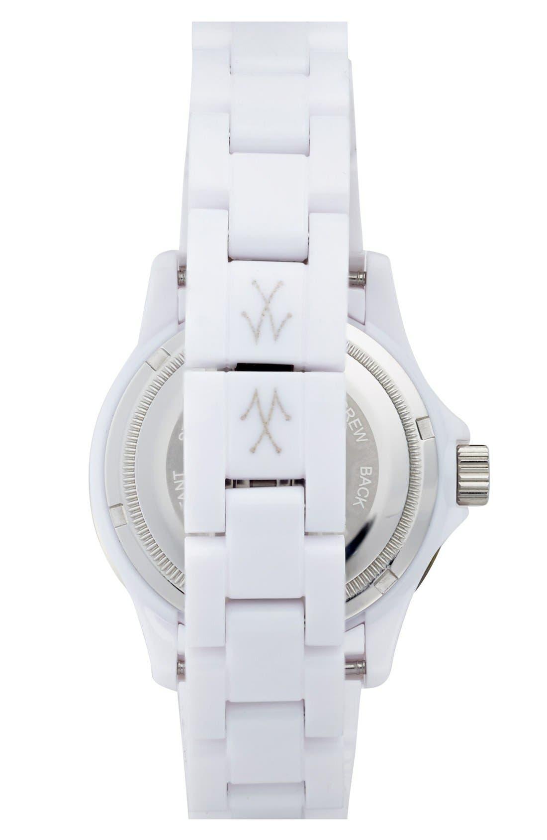 Alternate Image 2  - TOYWATCH 'Plasteramic' Bracelet Watch, 35mm