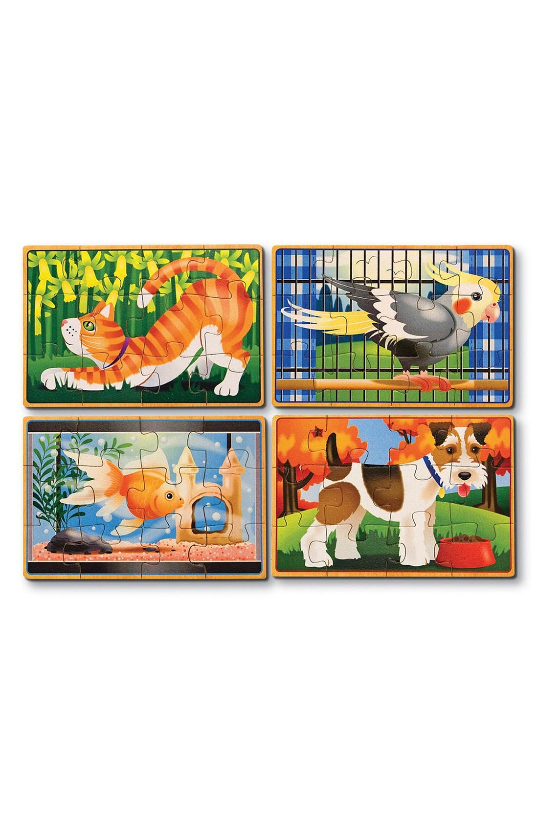 Alternate Image 1 Selected - Melissa & Doug 'Pets' Jigsaw Puzzles in a Box