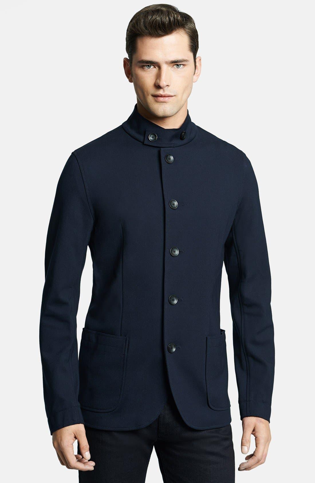 Alternate Image 1 Selected - Armani Collezioni Ponte Neru Jacket
