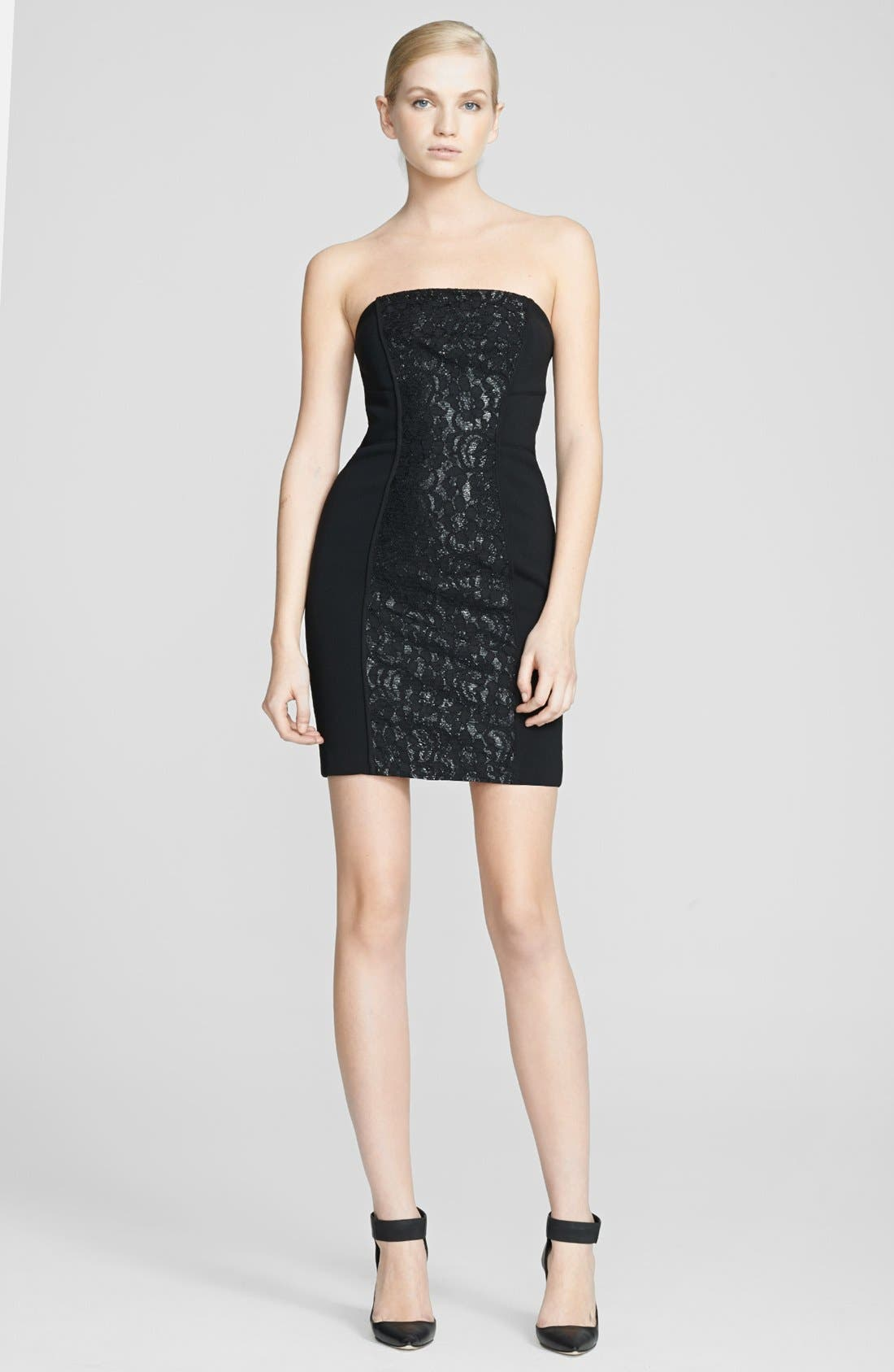 Main Image - Tracy Reese Lace Inset Dress