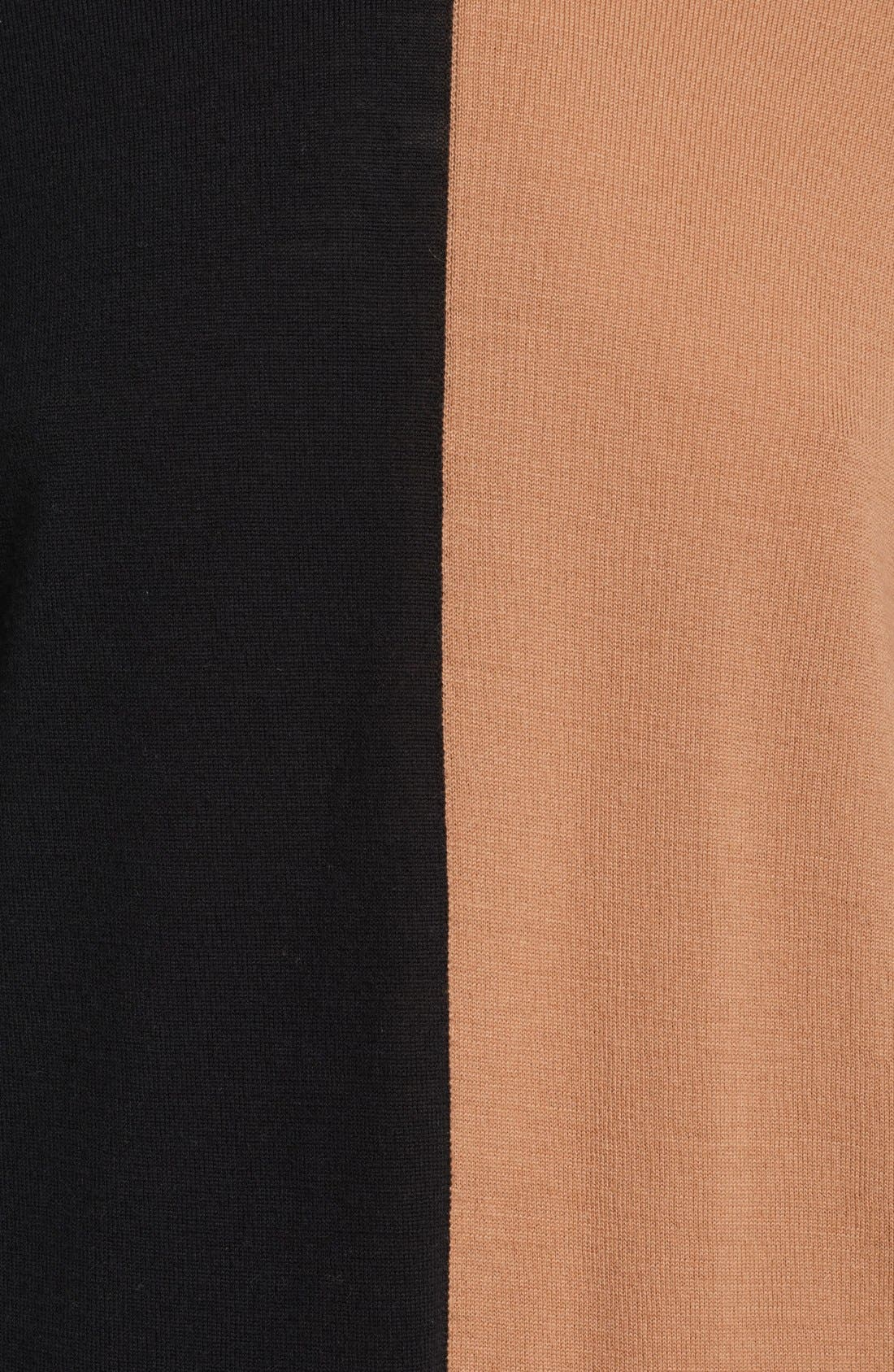 Alternate Image 2  - Michael Kors Colorblock Merino Wool Sweater