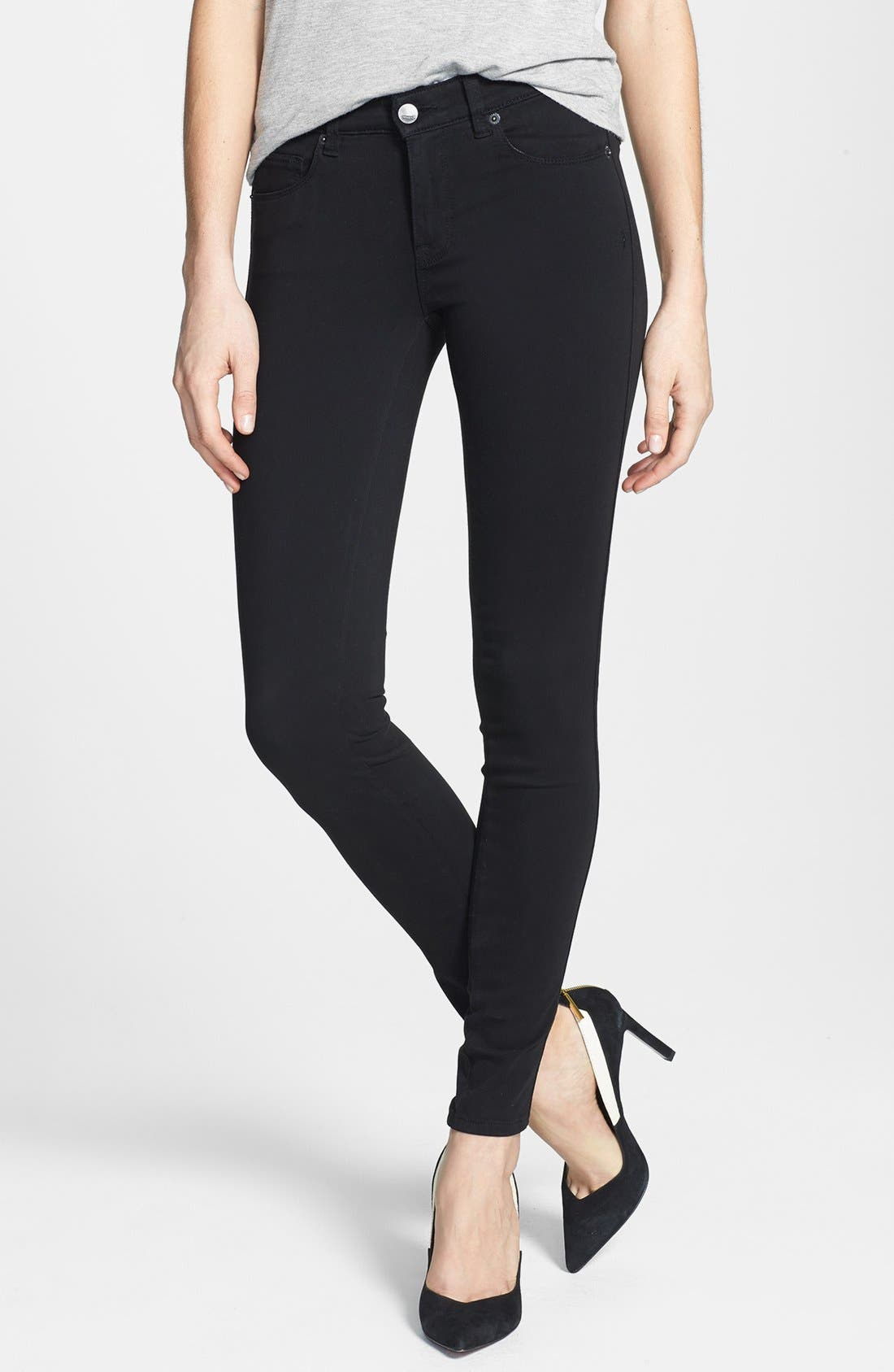 Main Image - Genetic 'Shya' Cigarette Skinny Jeans