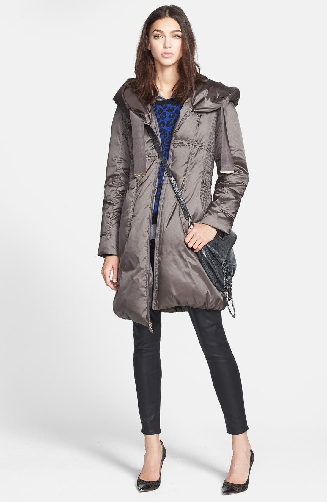 Alternate Image 2  - T Tahari 'Taryn' Pillow Hood Down Coat (Nordstrom Exclusive)