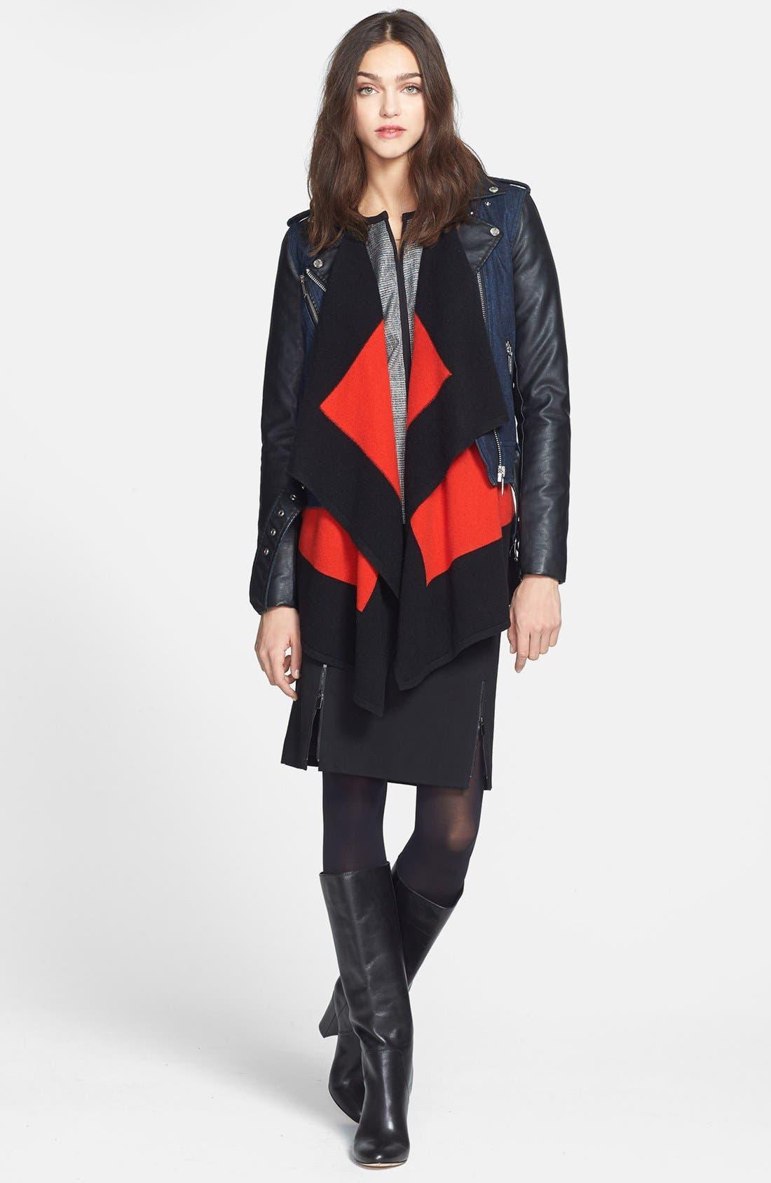 Alternate Image 4  - Classiques Entier® Double Knit Ponte Pencil Skirt