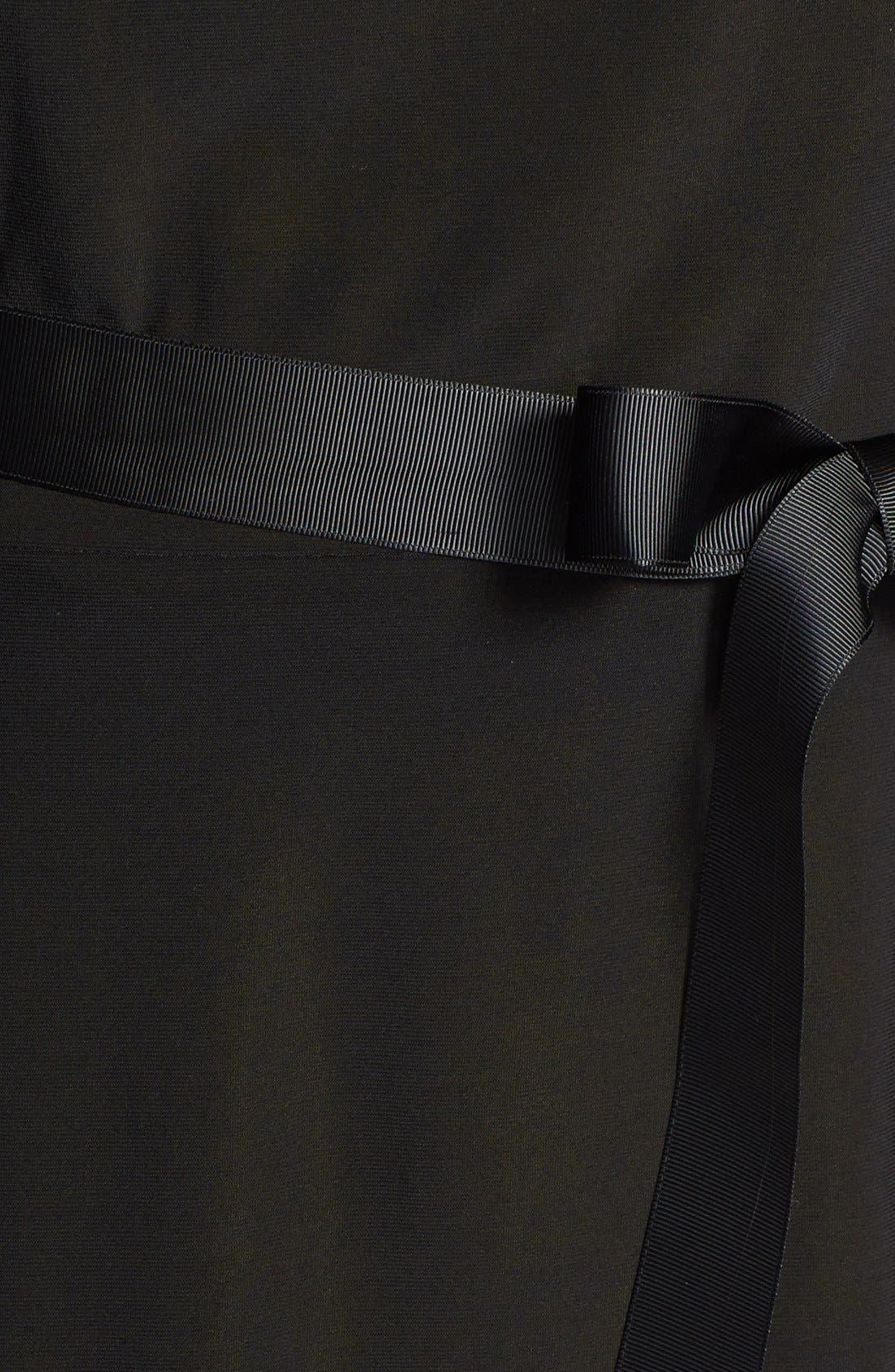 Alternate Image 3  - Alex Evenings Embellished Front Cutout Cap Sleeve Blouse (Plus Size)