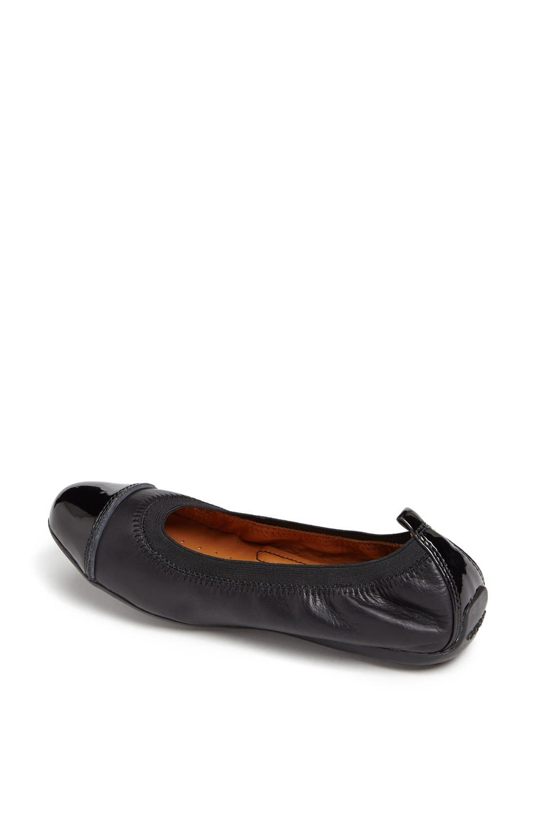 Alternate Image 2  - Geox 'Piuma' Cap Toe Ballerina Flat