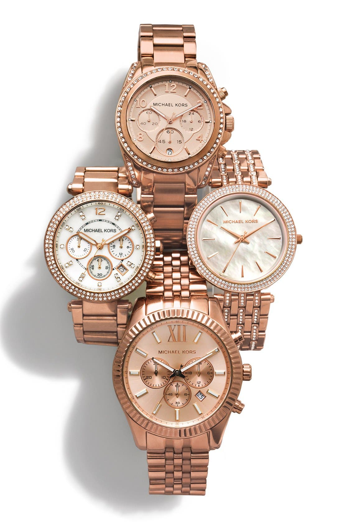 Alternate Image 7  - Michael Kors 'Blair' Chronograph Watch, 39mm
