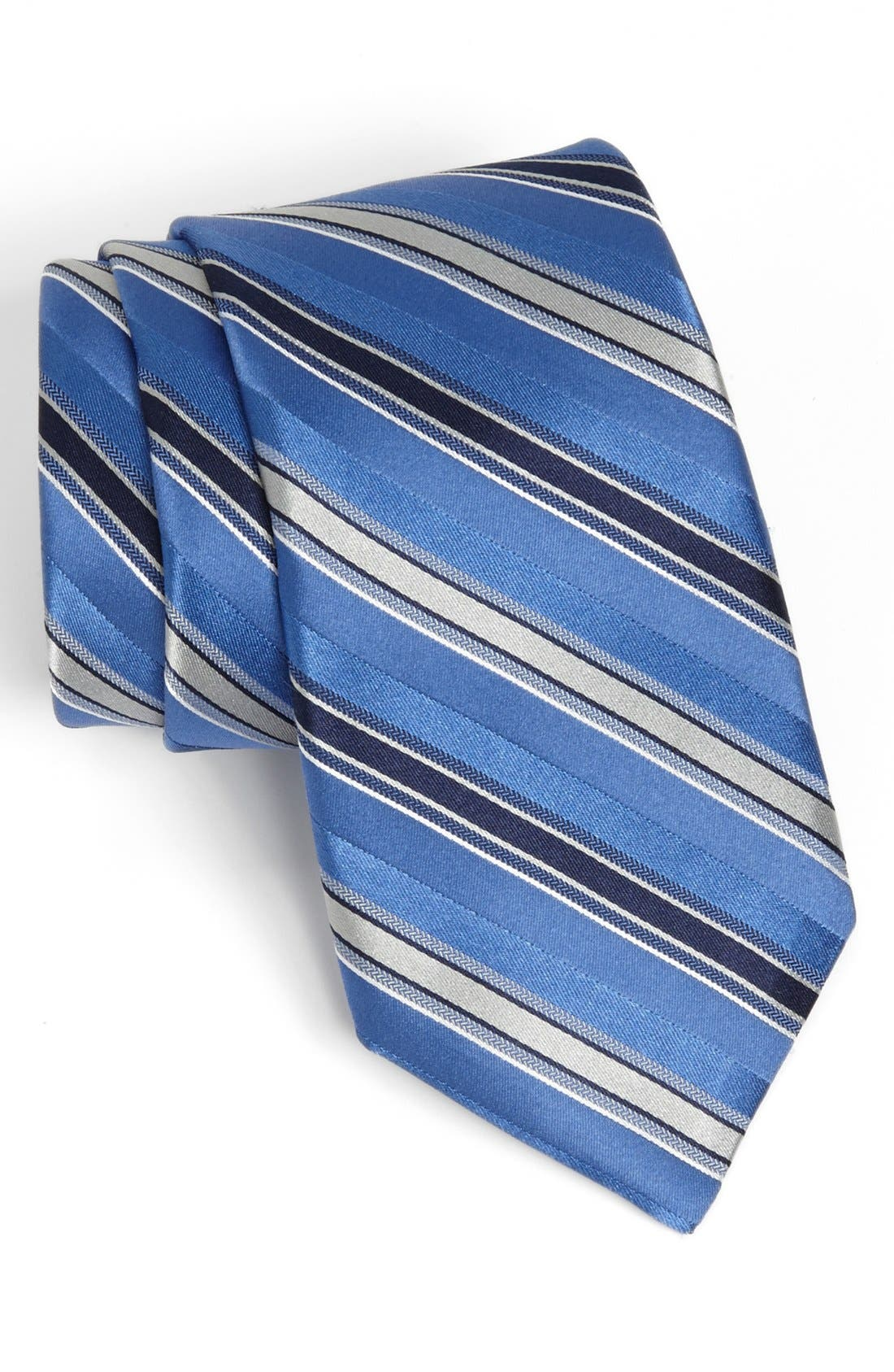 Alternate Image 1 Selected - Michael Kors 'Wilton' Stripe Silk Tie