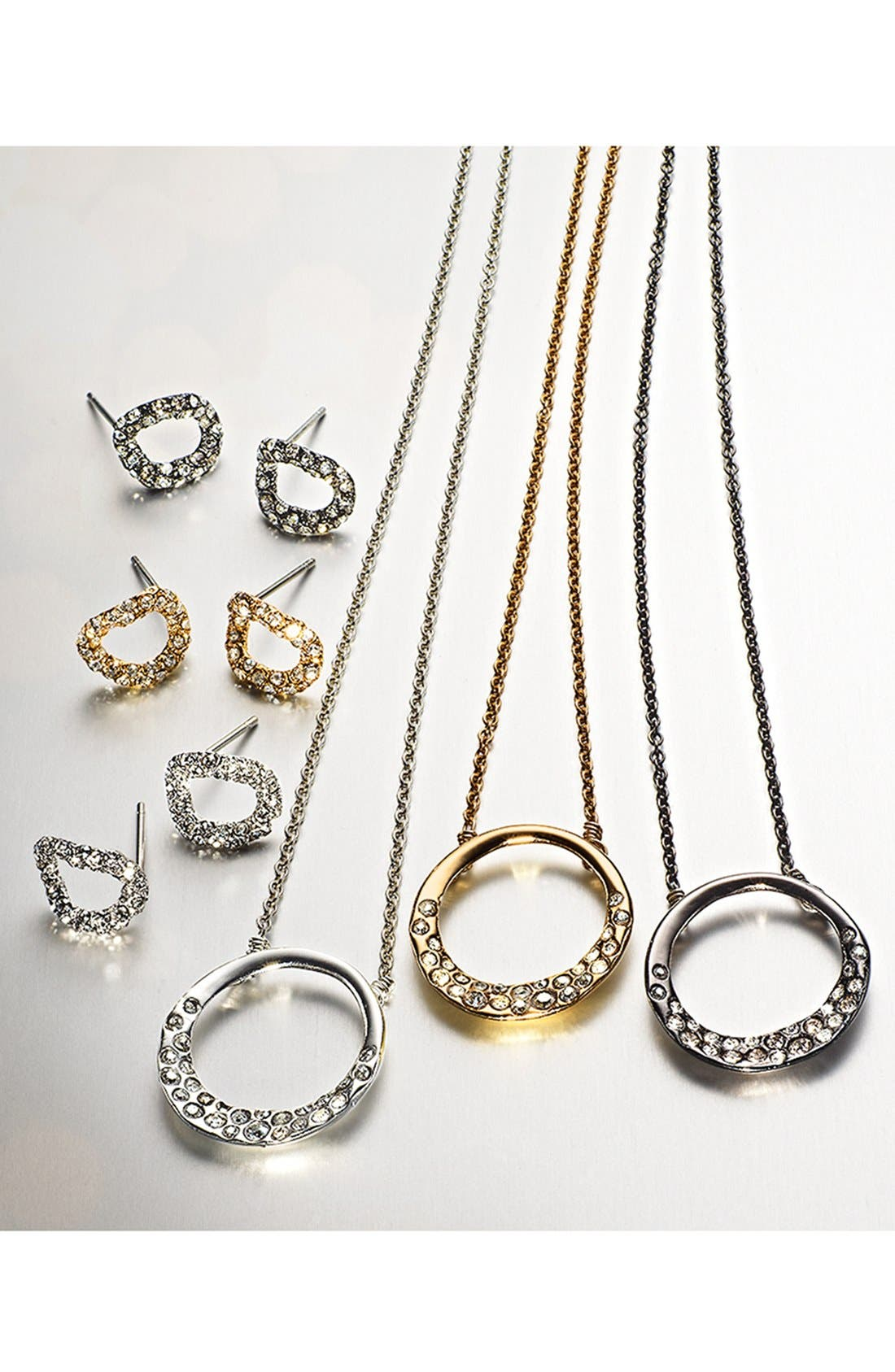 Alternate Image 5  - Alexis Bittar Boxed Stud Earrings & Necklace Set