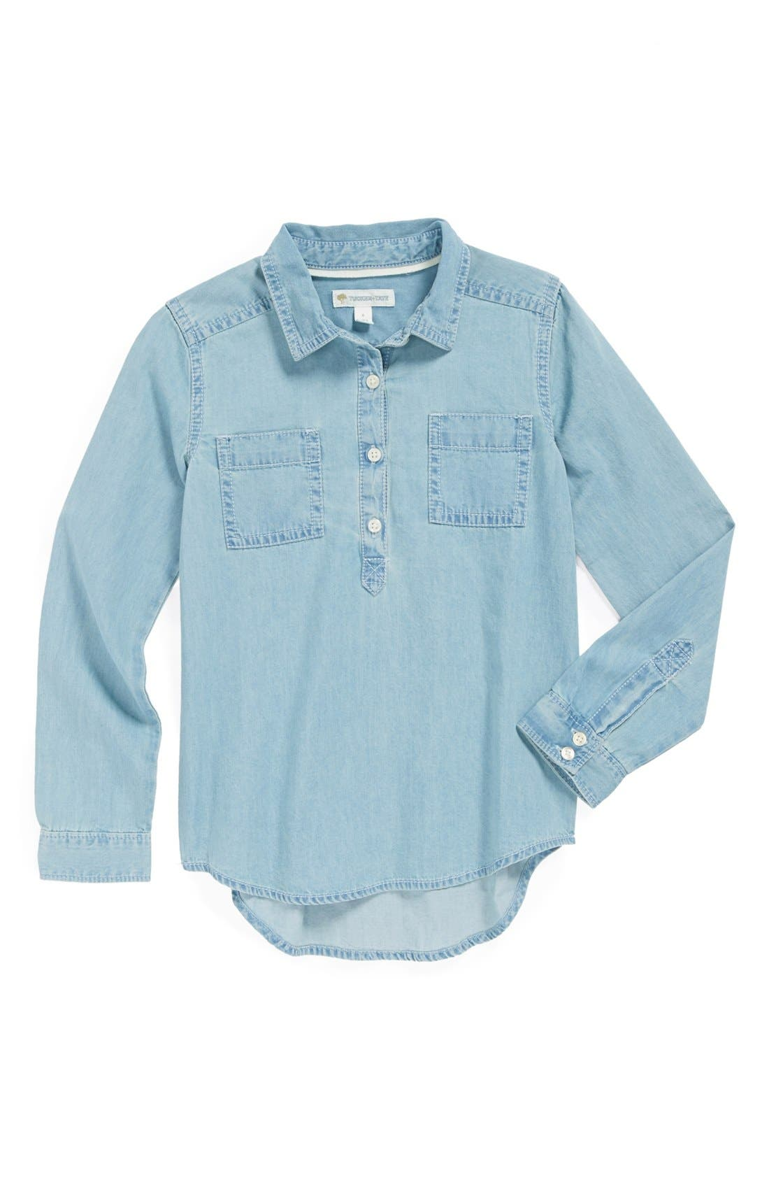Main Image - Tucker + Tate 'Wendy' Western Top (Toddler Girls, Little Girls & Big Girls)