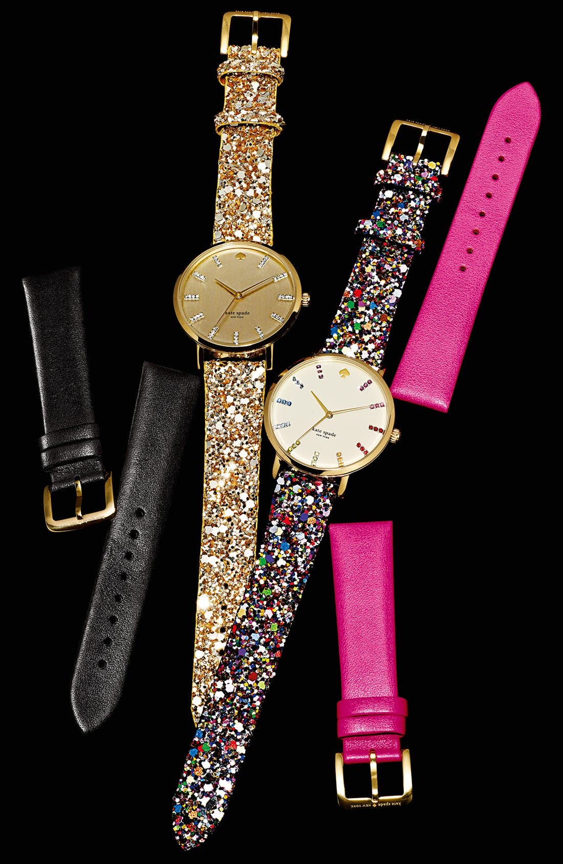 Alternate Image 4  - kate spade new york 'metro grand' boxed watch set