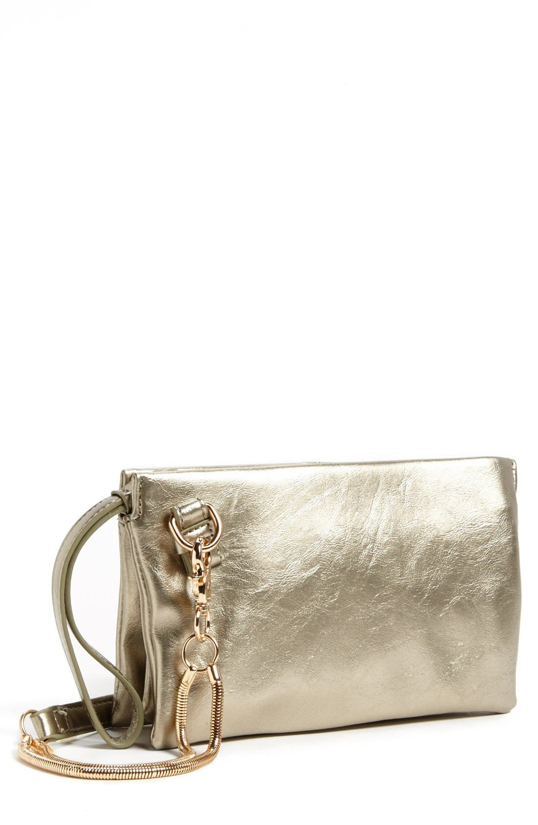 Alternate Image 1 Selected - POVERTY FLATS by rian Convertible Crossbody Bag