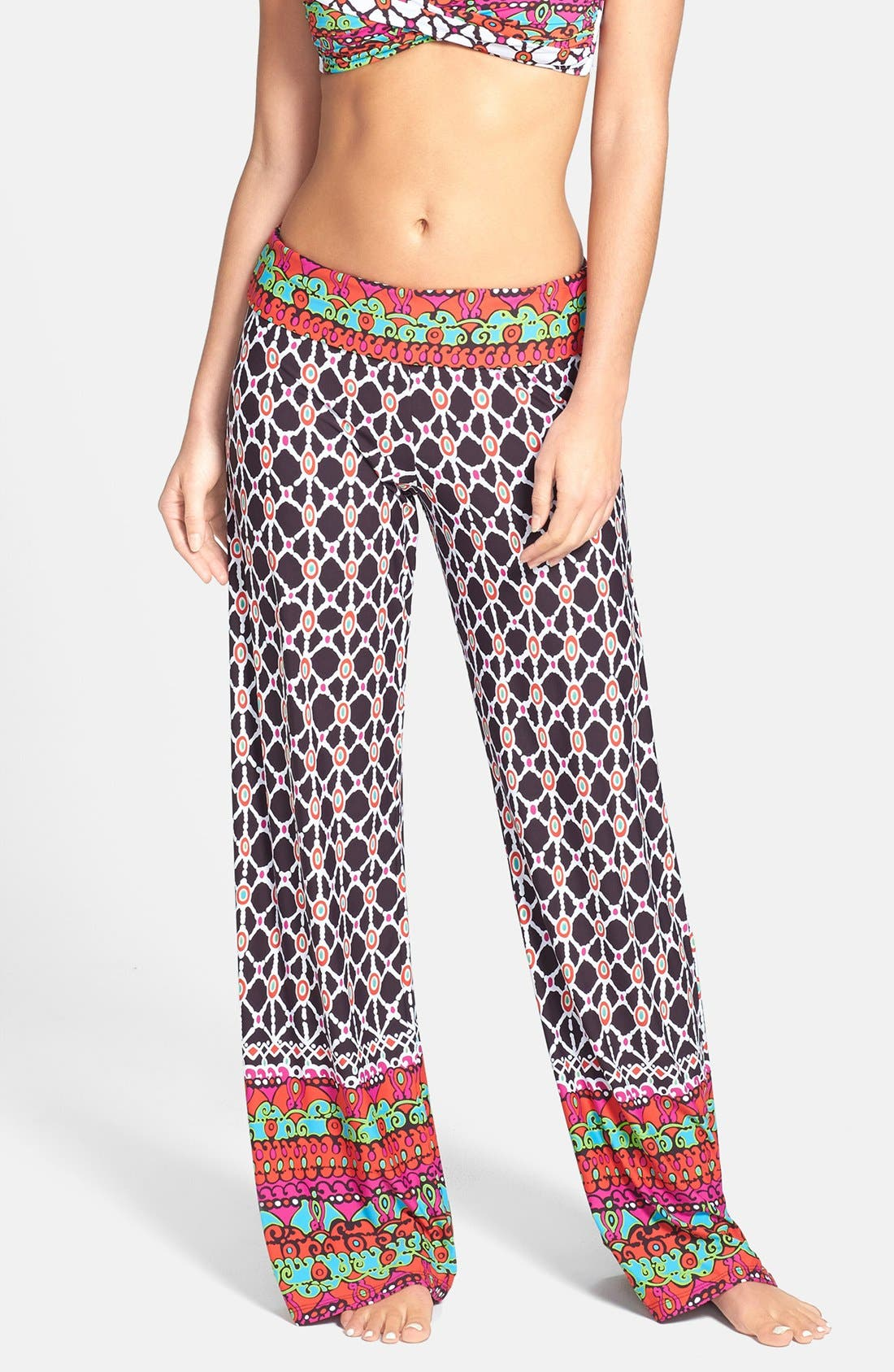 Main Image - Trina Turk Foldover Cover-Up Pants
