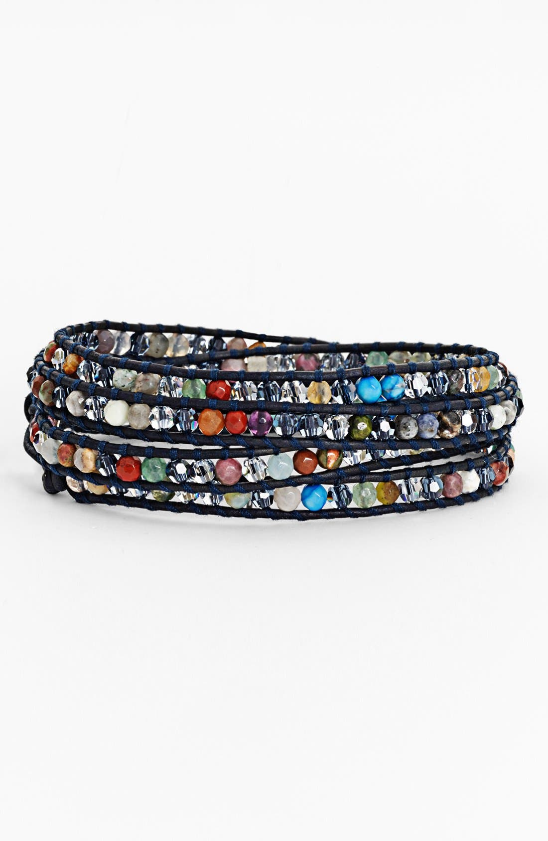 Alternate Image 1 Selected - Chan Luu Crystal Wrap Bracelet