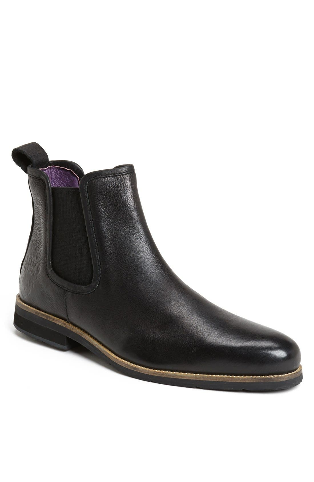 Alternate Image 1 Selected - Blackstone 'SCM 004' Leather Chelsea Boot (Men)