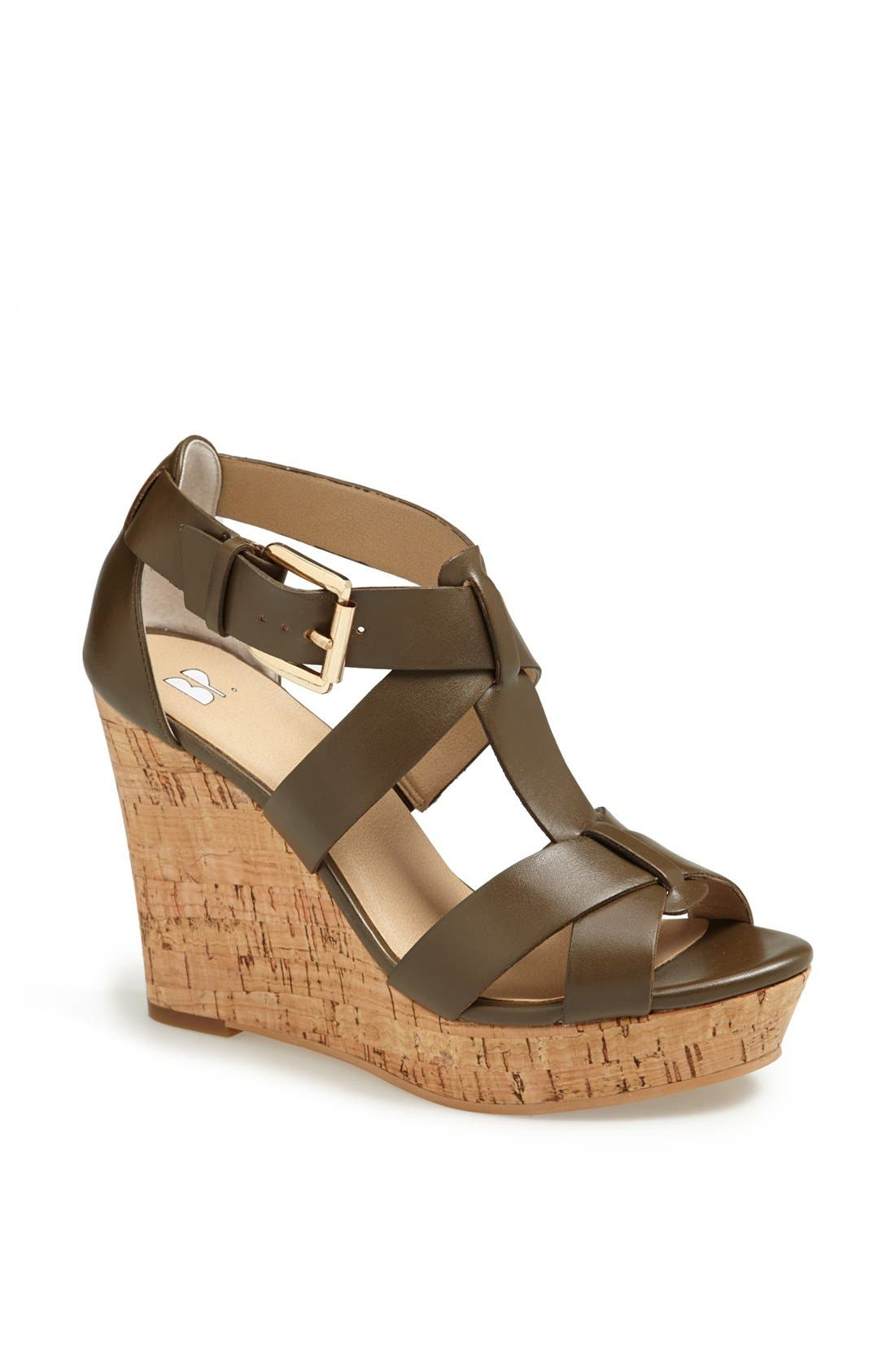 Alternate Image 1 Selected - BP. 'Daleray' Wedge Sandal