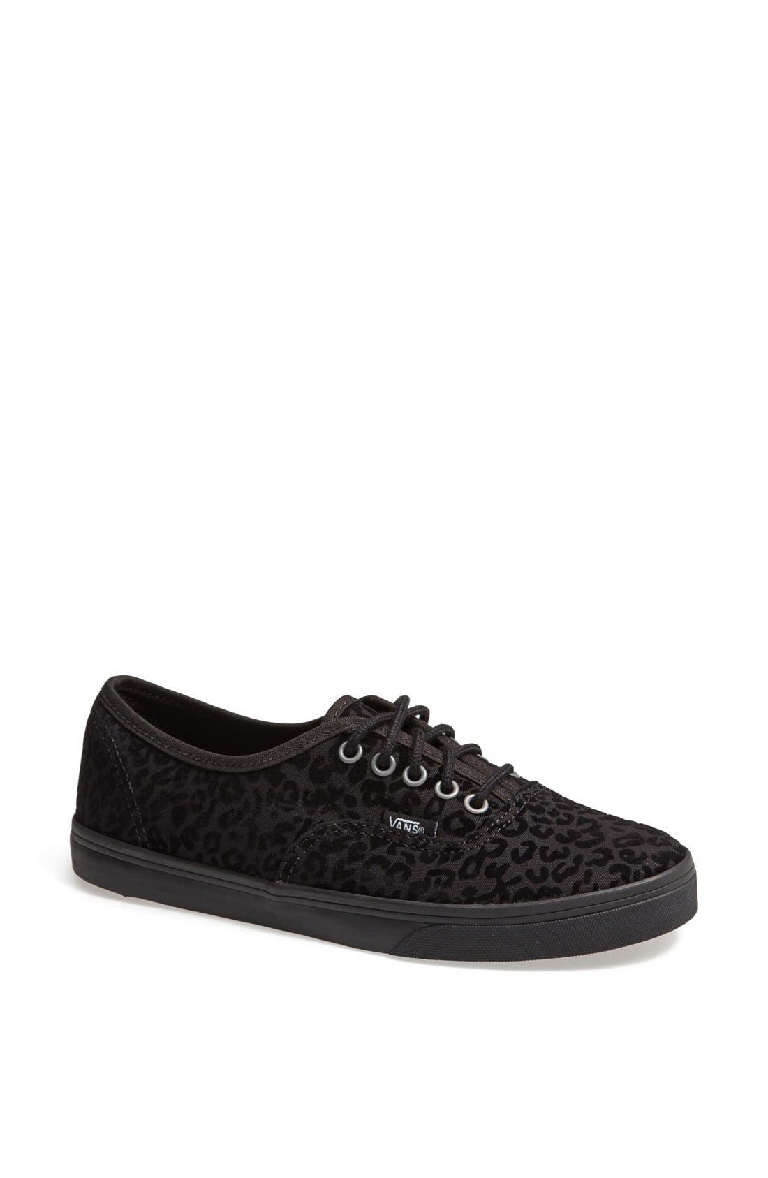 Alternate Image 1 Selected - Vans 'Authentic - Lo Pro' Cheetah Spot Sneaker