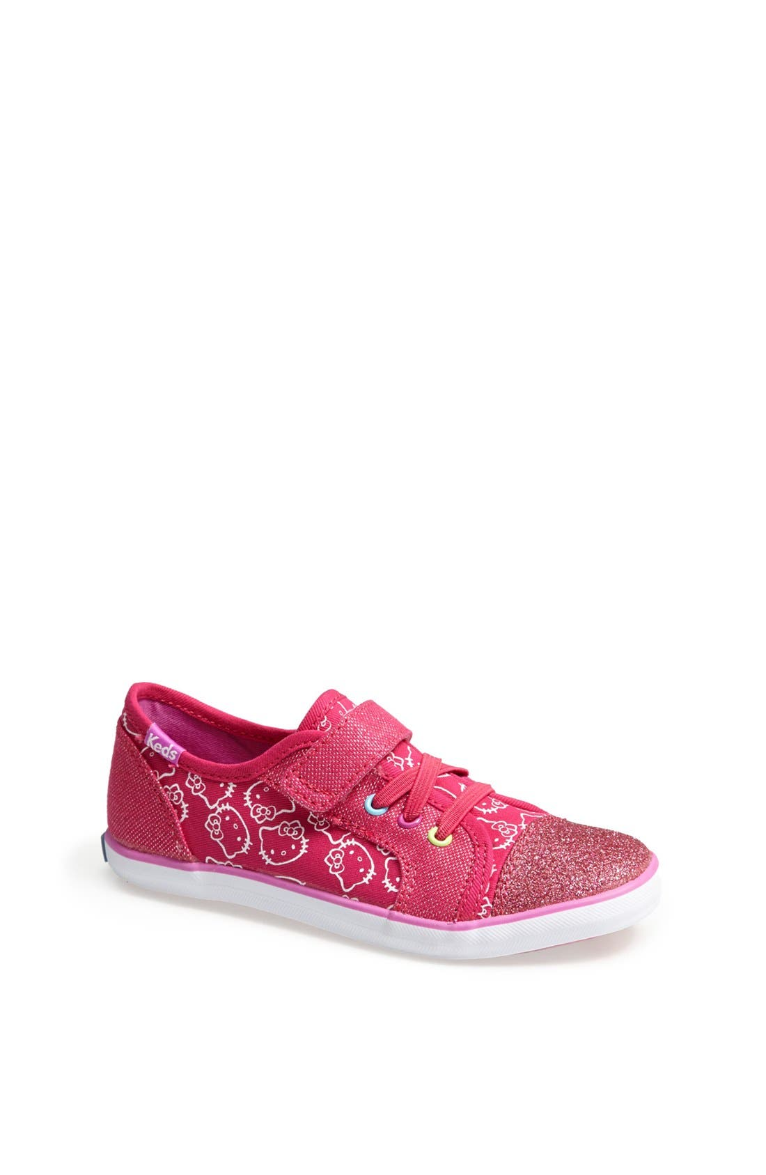 Main Image - Keds® 'Champion - Hello Kitty®' Sneaker (Baby, Walker & Toddler)
