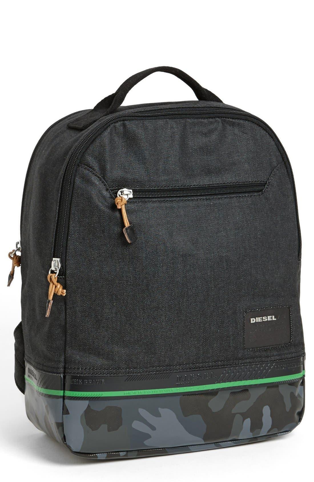 Alternate Image 1 Selected - DIESEL® 'Rubber Games' Backpack