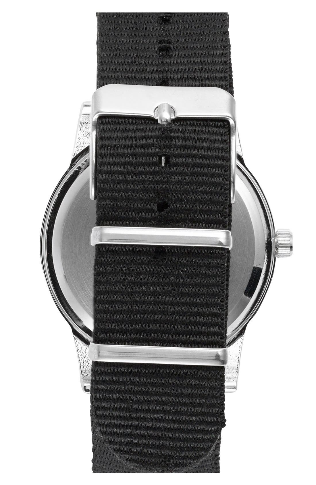 Alternate Image 3  - ACCUTIME Round Dial Interchangeable Strap Watch, 40mm