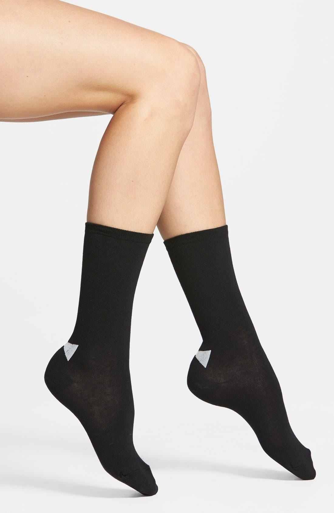 Main Image - kate spade new york 'bow' crew socks